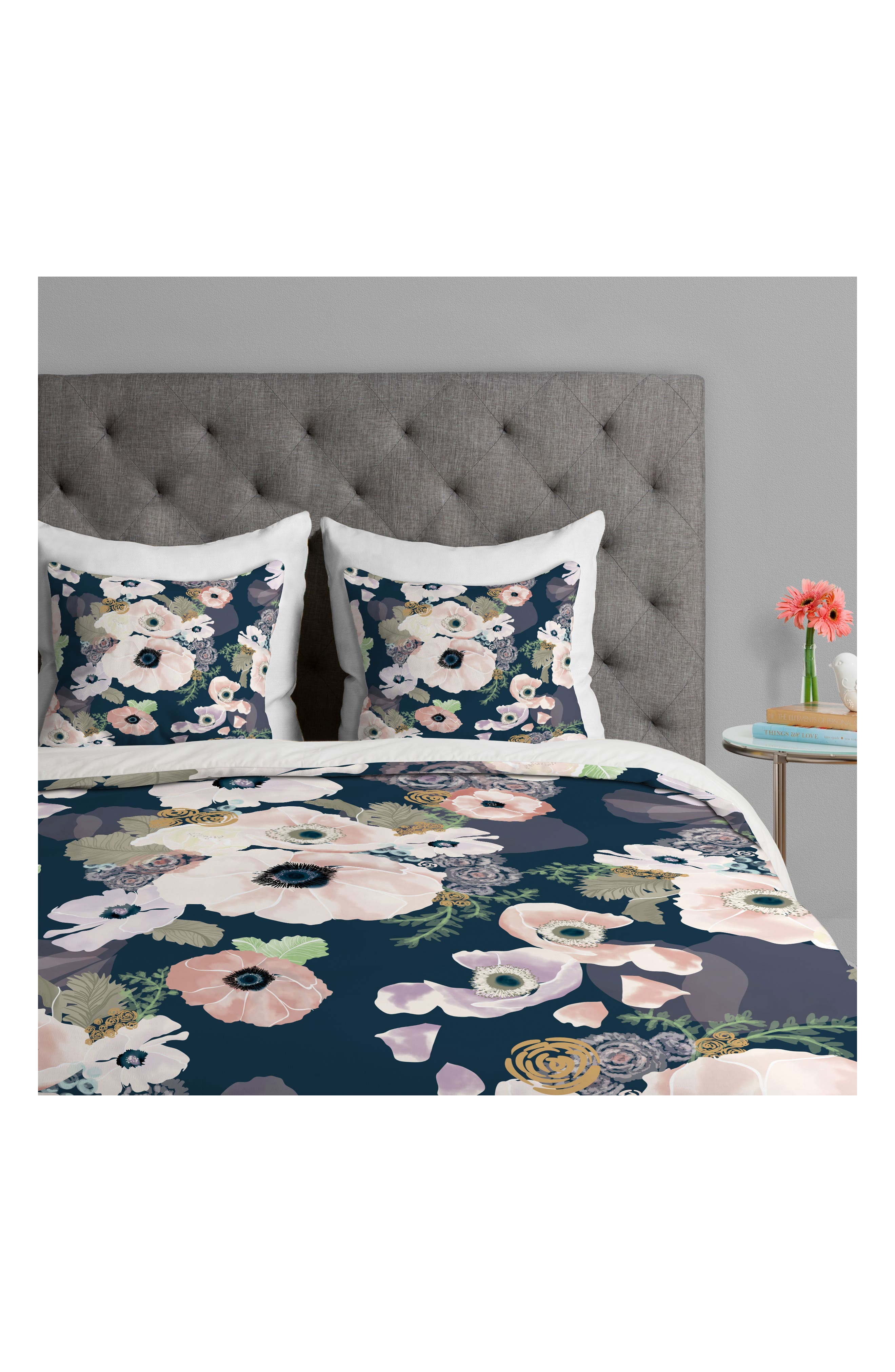 Khristian Howell Duvet Cover & Sham Set,                             Alternate thumbnail 4, color,