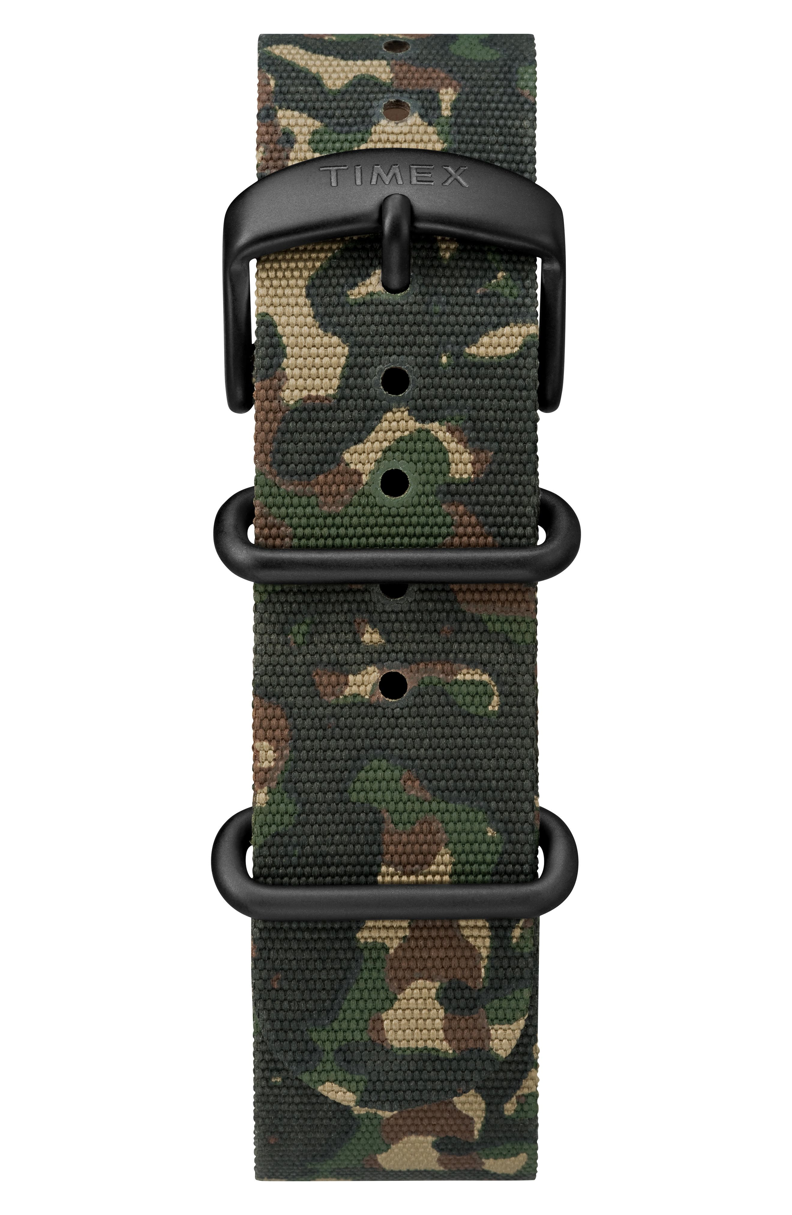 Timex<sup>®</sup> x Todd Snyder The Military NATO Strap Watch Set, 40mm,                             Alternate thumbnail 2, color,                             GREY/ CAMO