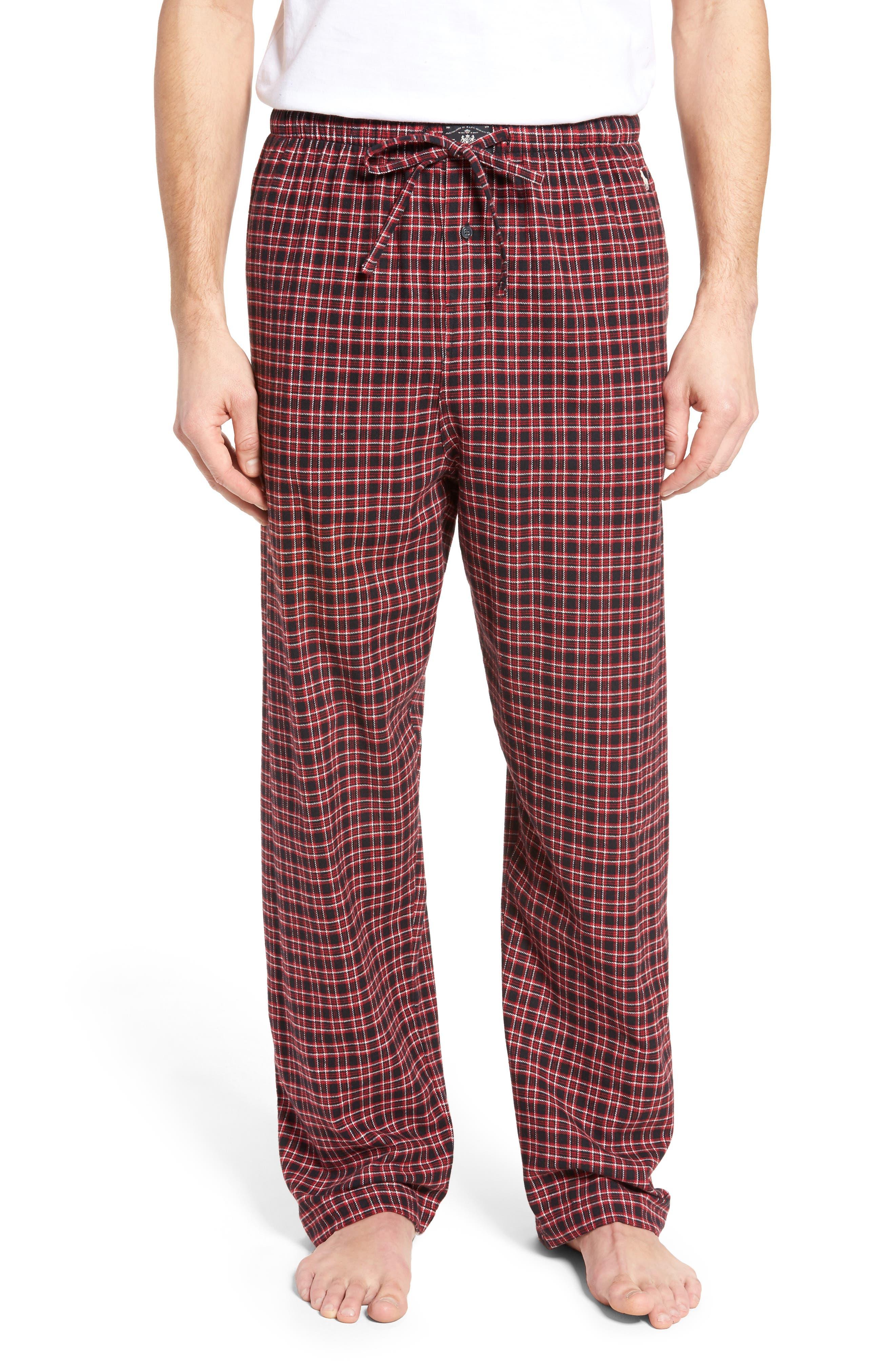 Flannel Pajama Pants,                             Main thumbnail 2, color,