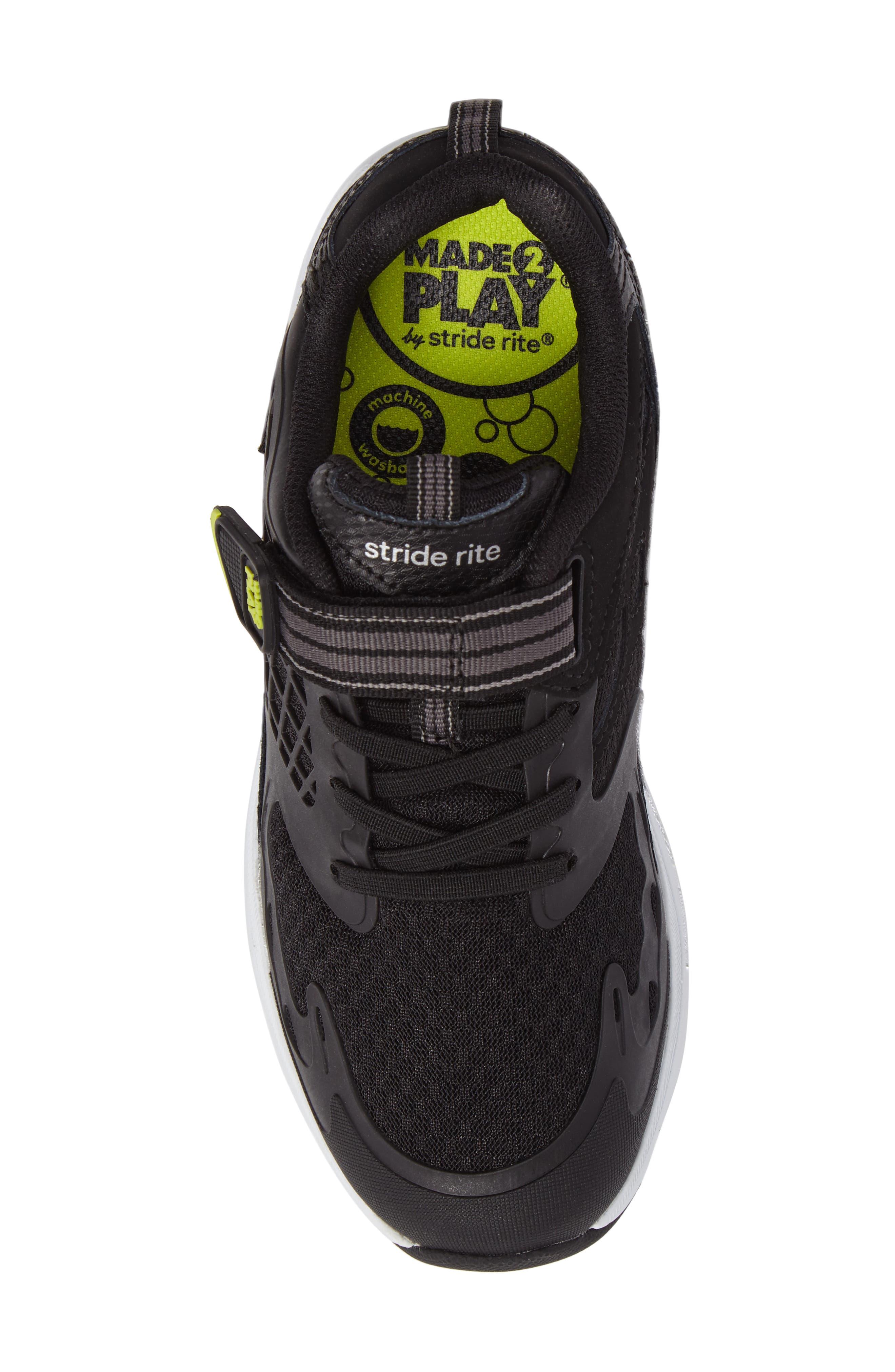 STRIDE RITE,                             Made 2 Play Breccen Sneaker,                             Alternate thumbnail 5, color,                             001