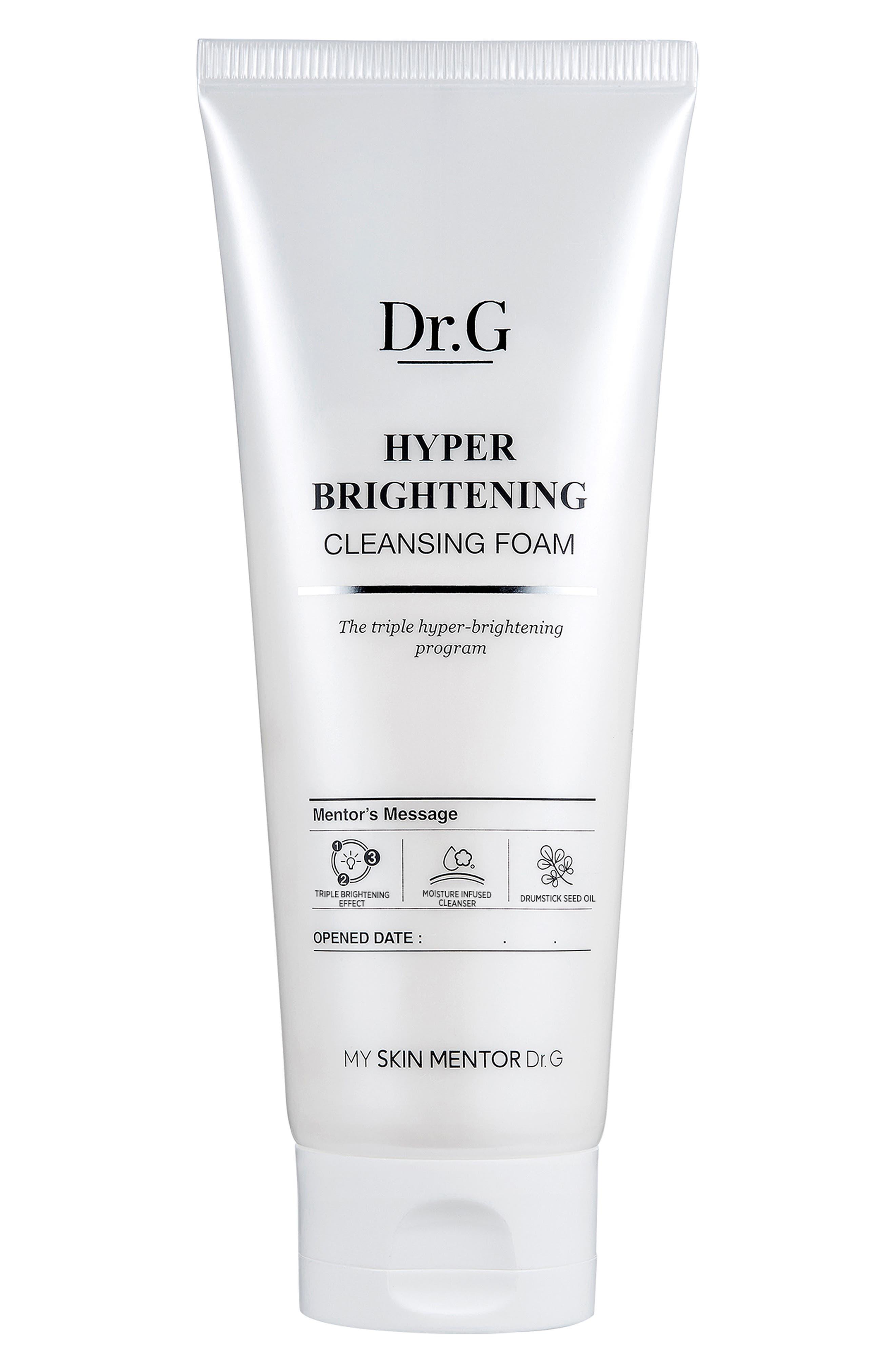 Hyper Brightening Cleansing Foam,                         Main,                         color, 000