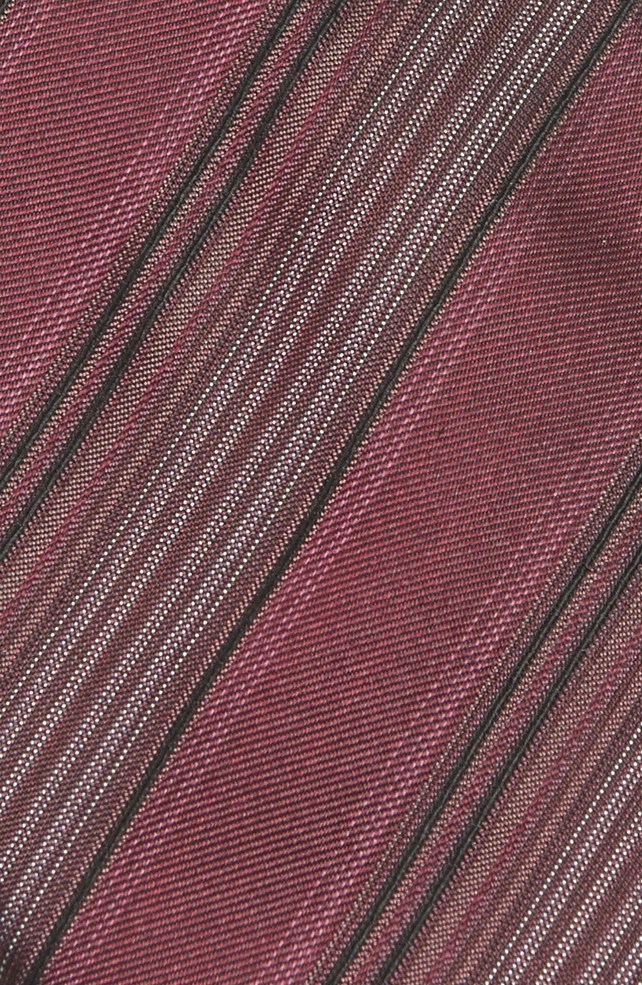 Stripe Silk Tie,                             Alternate thumbnail 8, color,