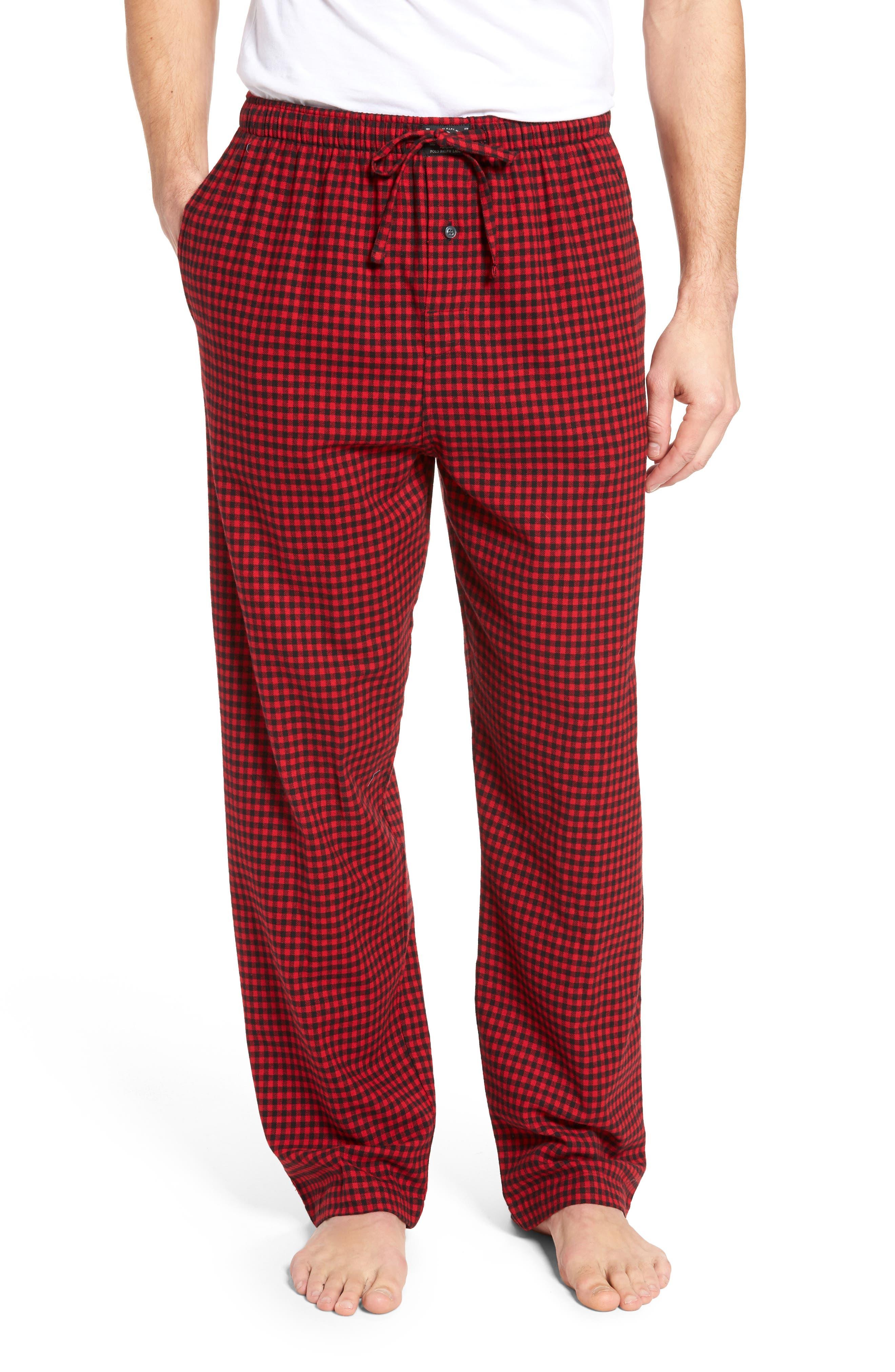Flannel Pajama Pants,                             Main thumbnail 12, color,