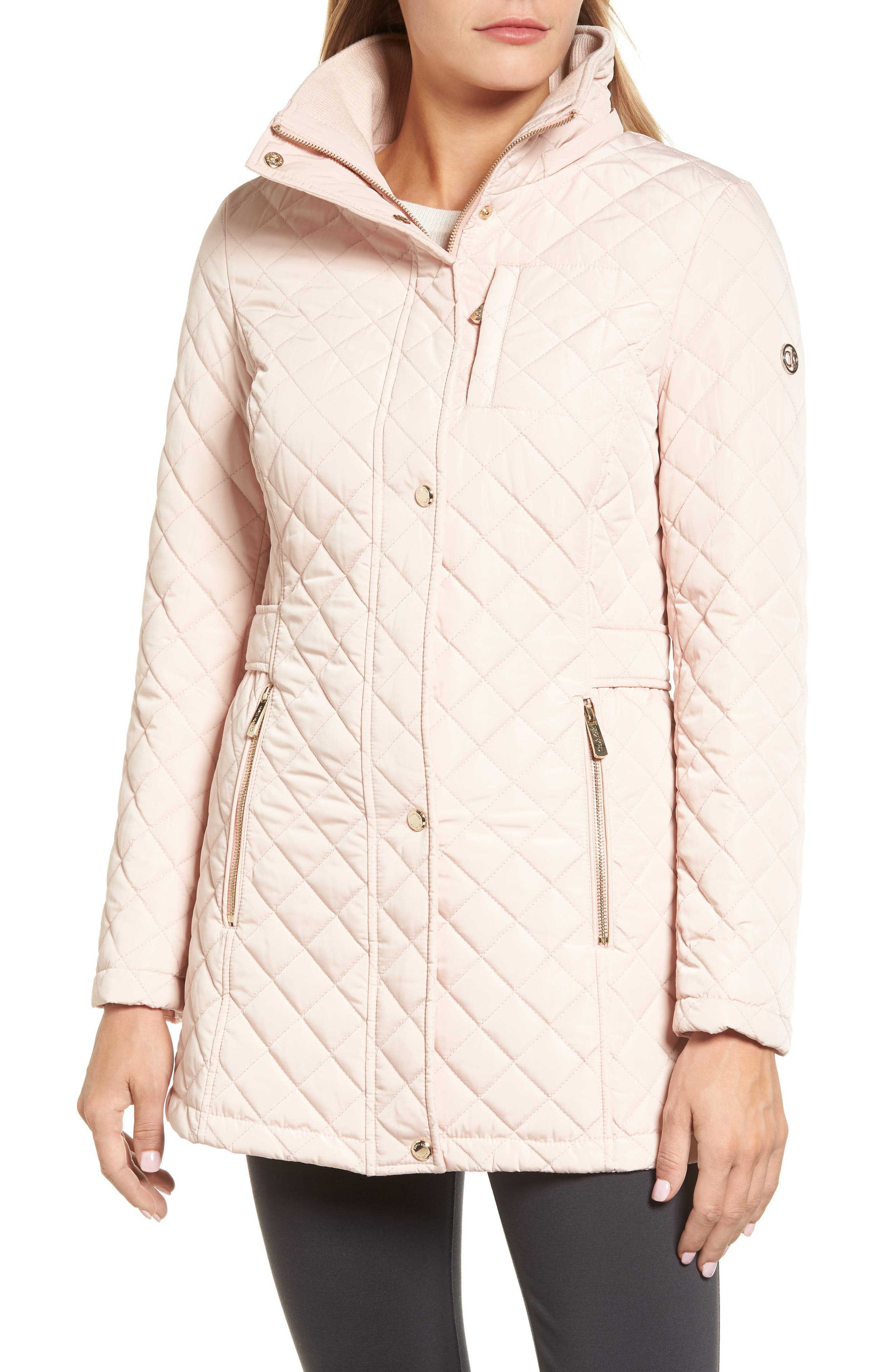 Hooded Quilted Jacket,                             Alternate thumbnail 24, color,