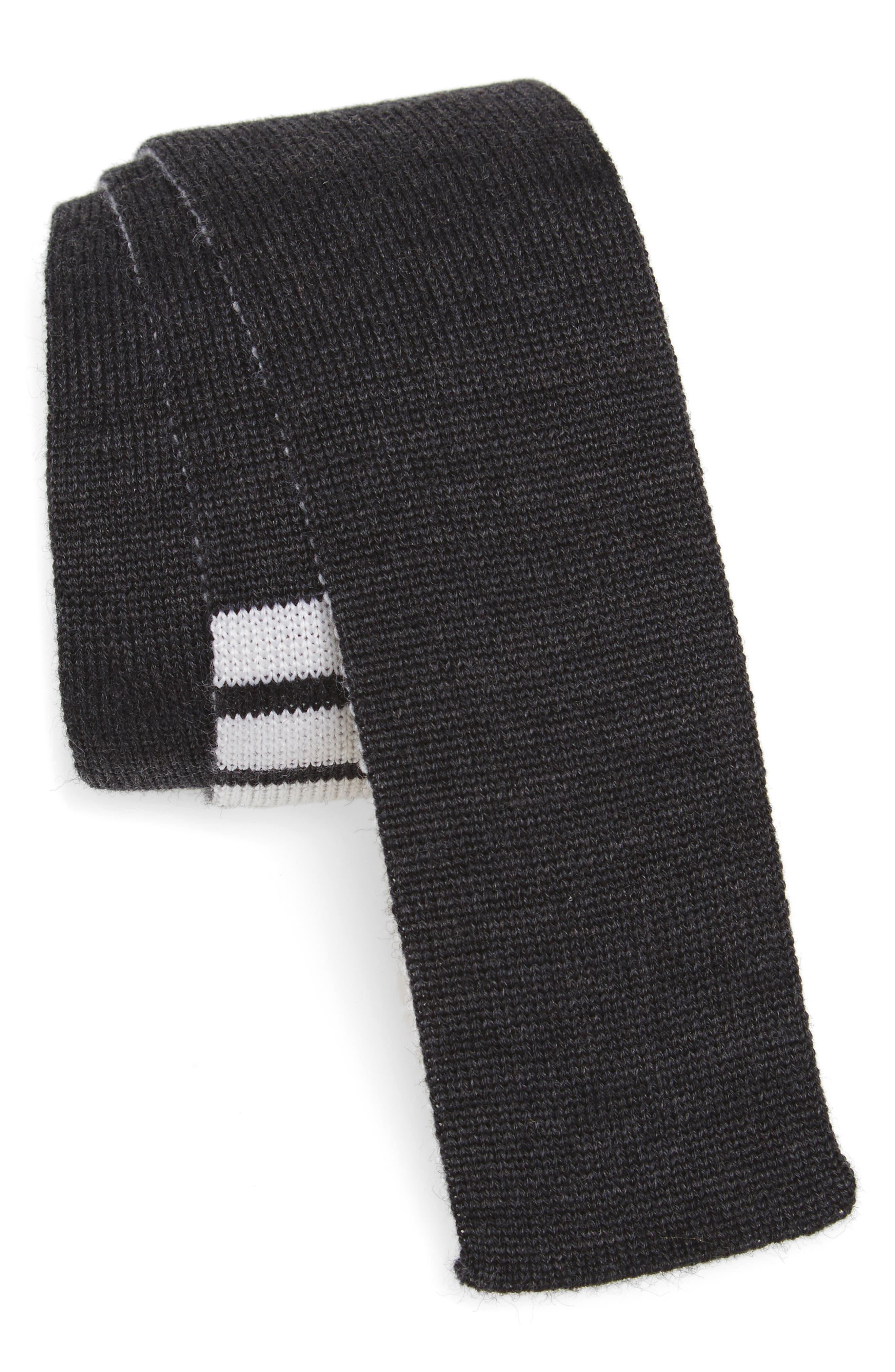 4-Bar Wool Knit Tie,                             Main thumbnail 2, color,