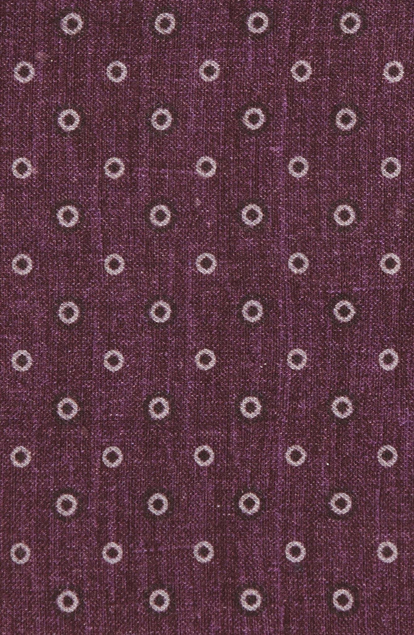 Medallion Wool & Cotton Pocket Square,                             Alternate thumbnail 9, color,