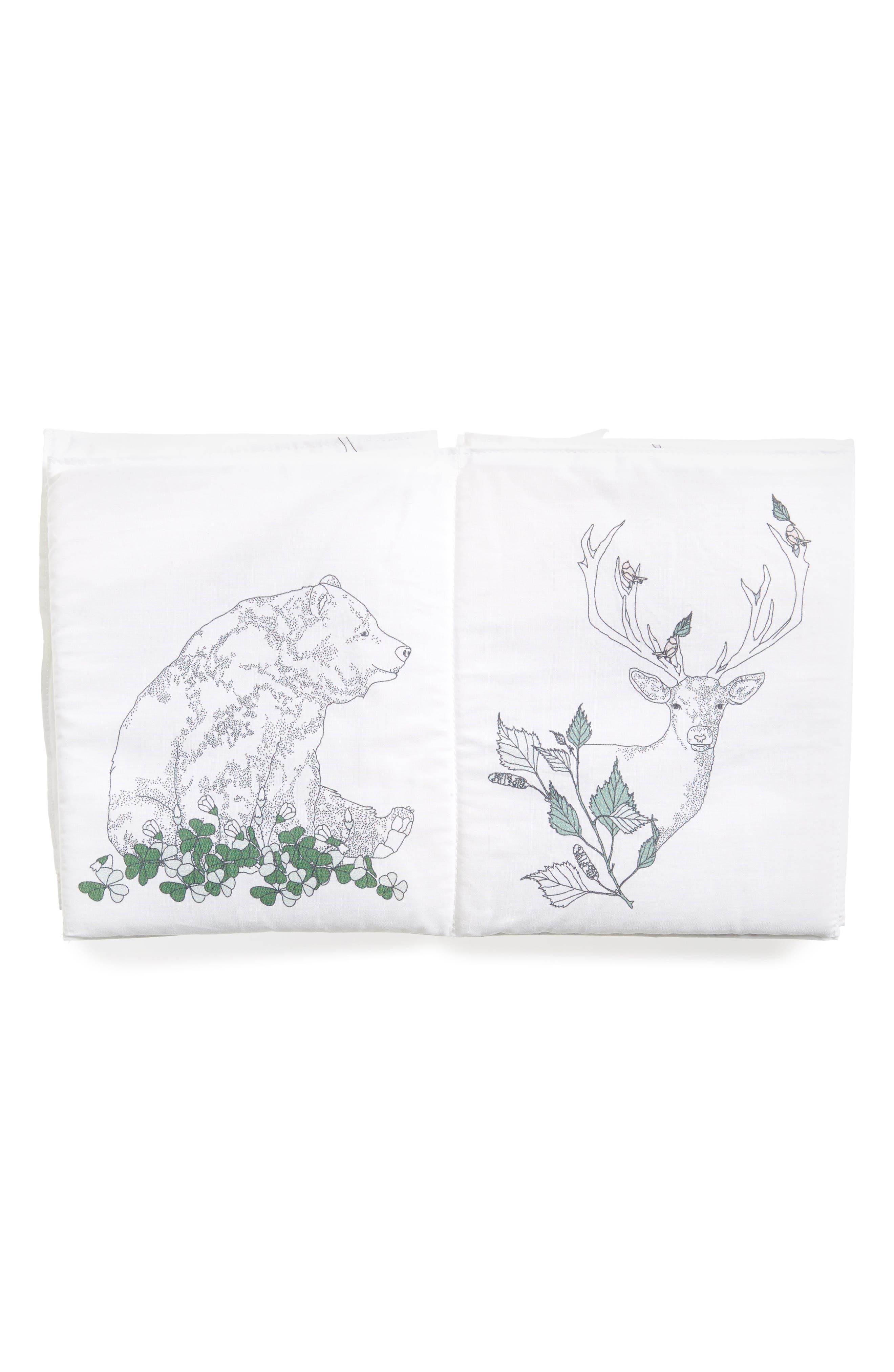Flora & Fauna Fabric Book,                             Alternate thumbnail 2, color,                             100