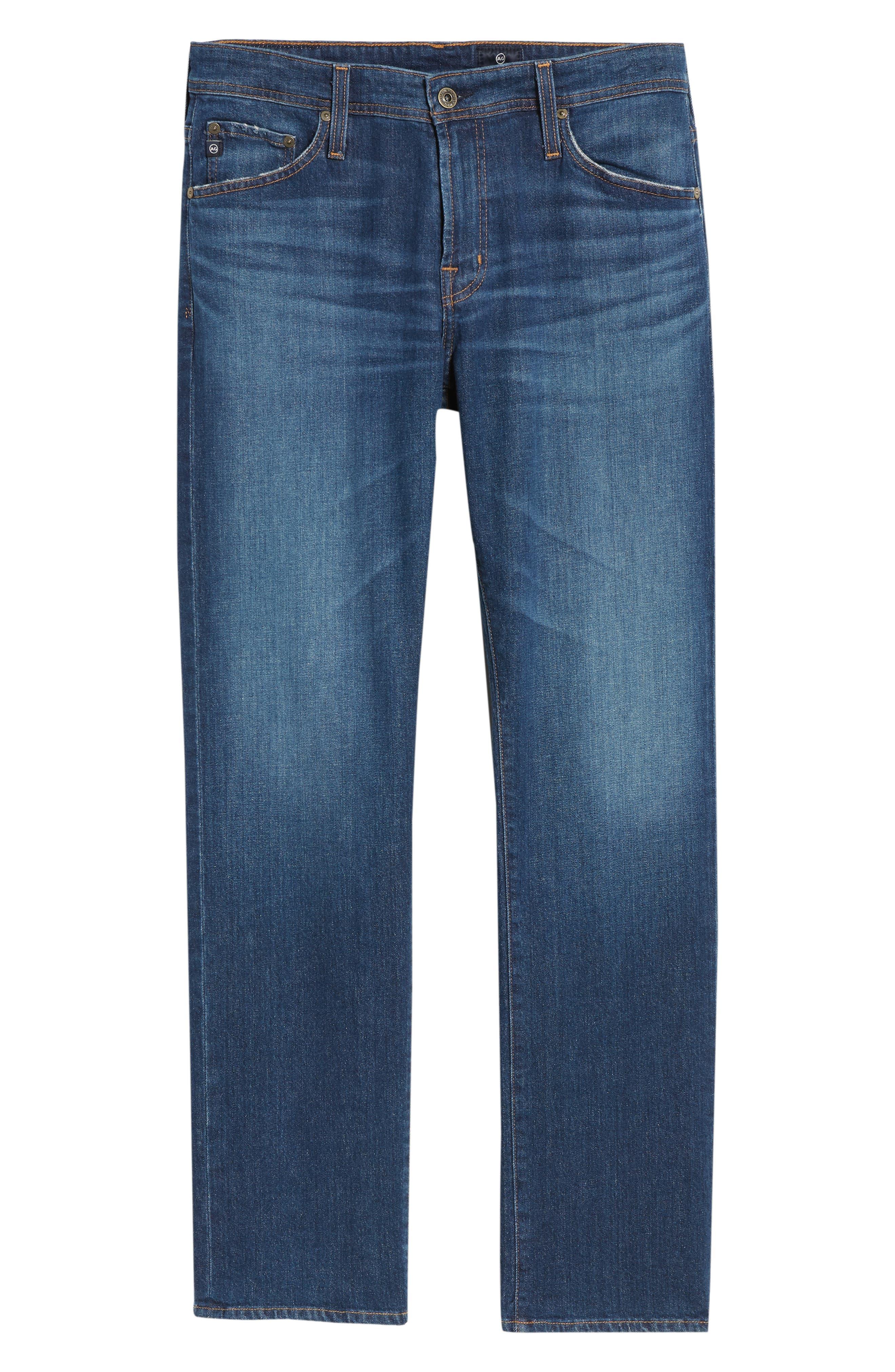 Graduate Slim Straight Leg Jeans,                             Alternate thumbnail 6, color,                             400