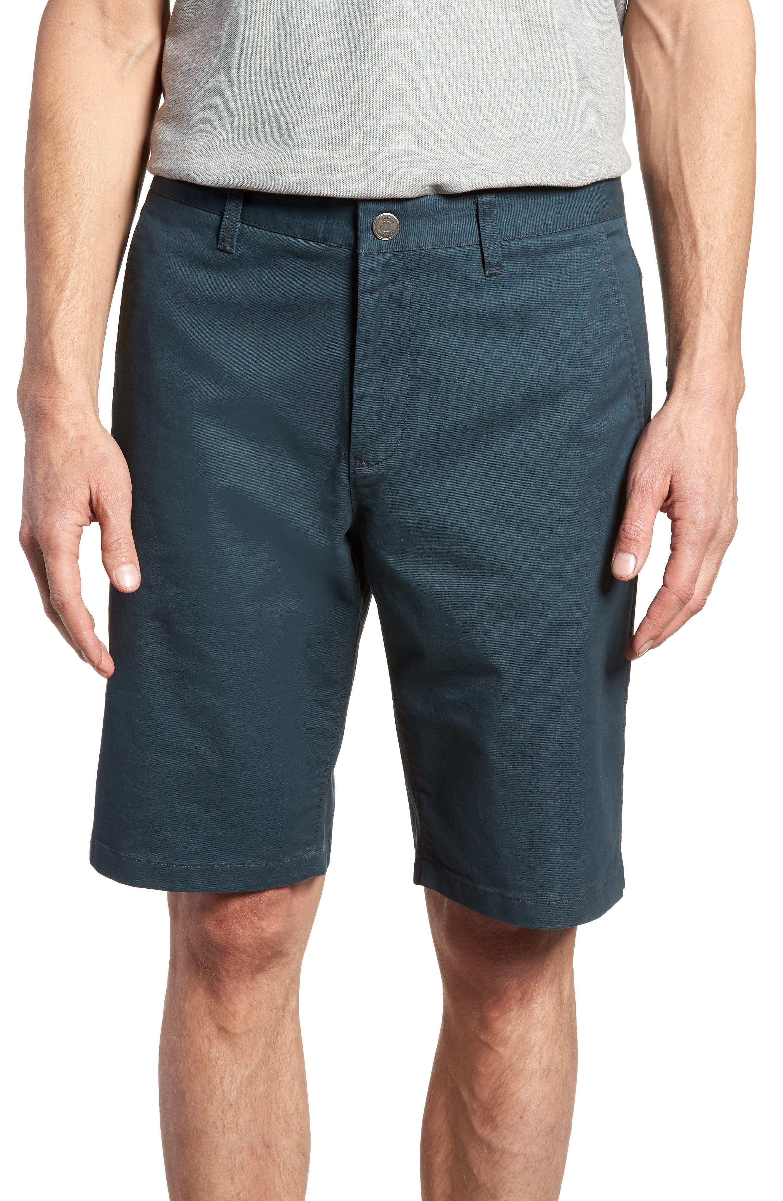 Stretch Washed Chino 11-Inch Shorts,                             Main thumbnail 5, color,