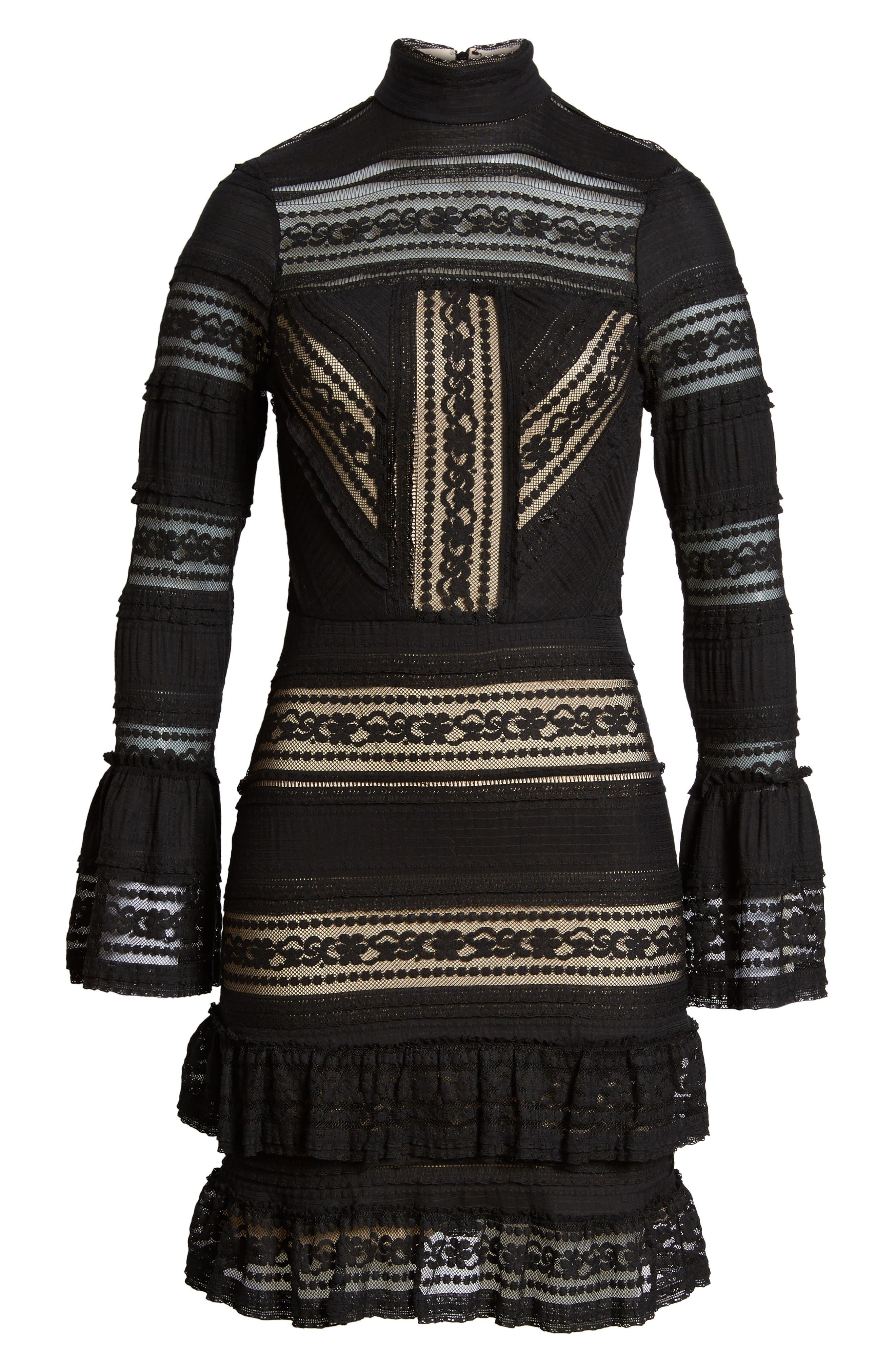 Topanga Lace Sheath Dress,                             Alternate thumbnail 6, color,