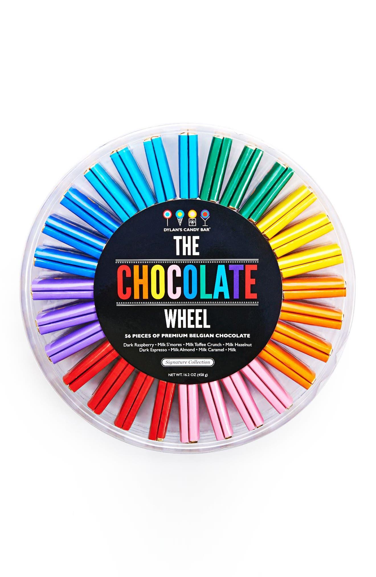 Signature Chocolate Wheel,                             Alternate thumbnail 2, color,                             400