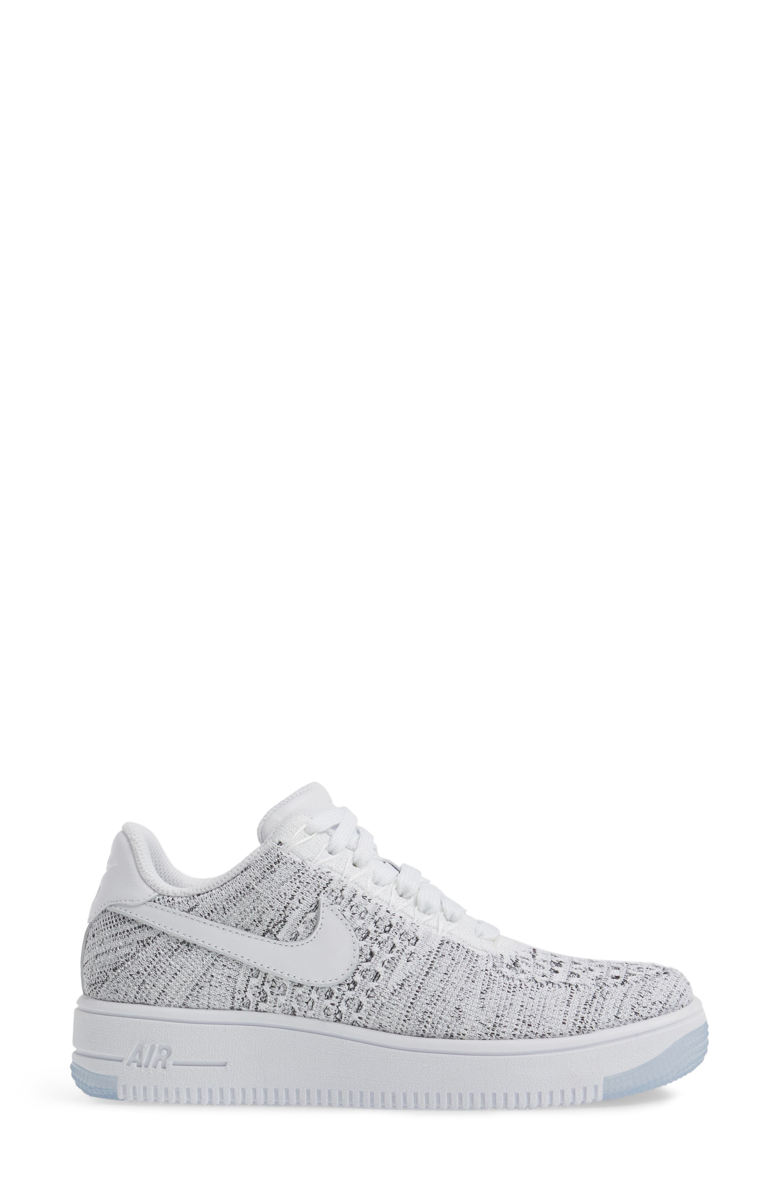 'Air Force 1 Flyknit Low' Sneaker,                             Alternate thumbnail 19, color,