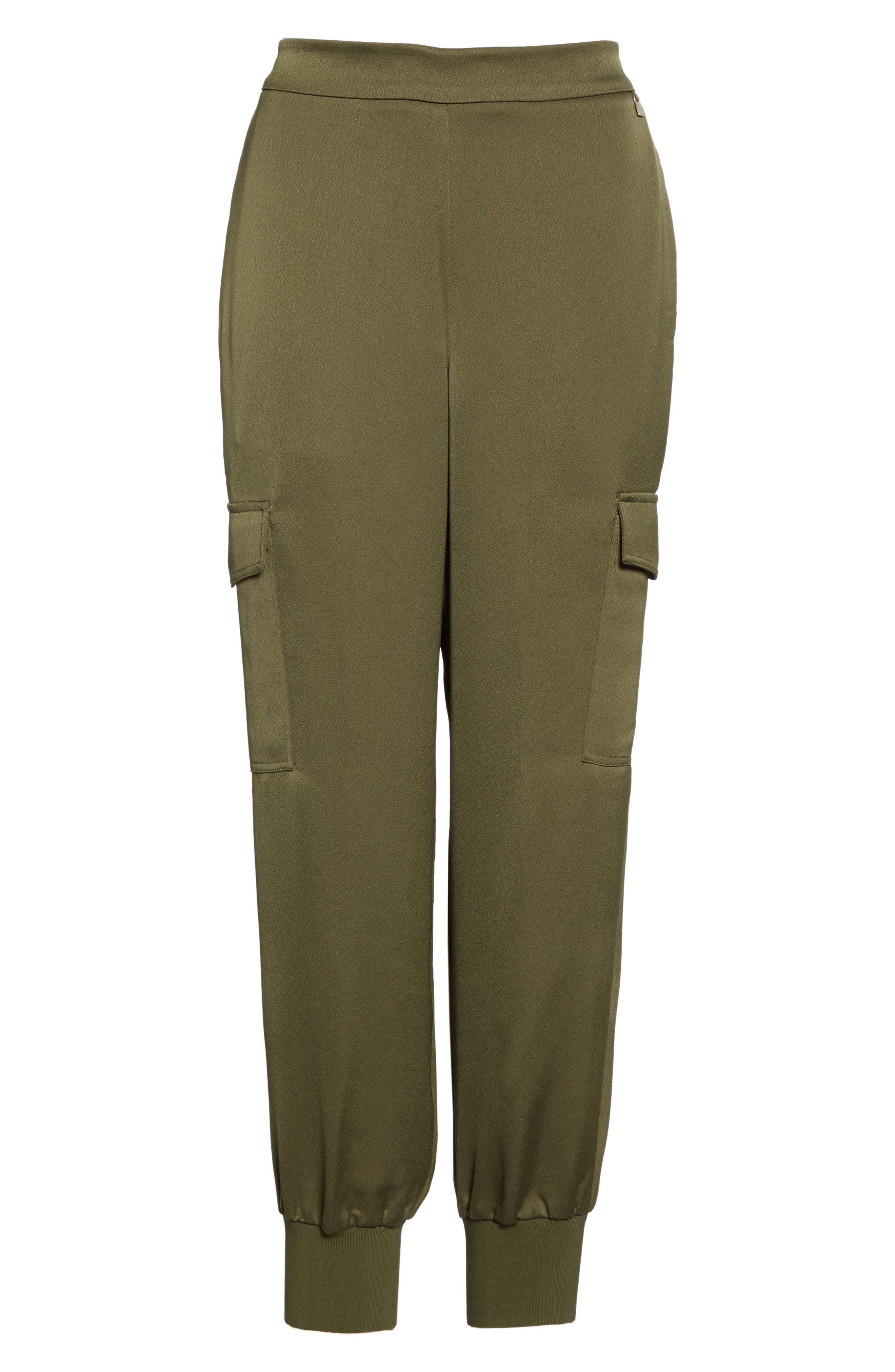 TED BAKER LONDON,                             Sulia Cargo Ankle Jogger Pants,                             Alternate thumbnail 6, color,                             KHAKI