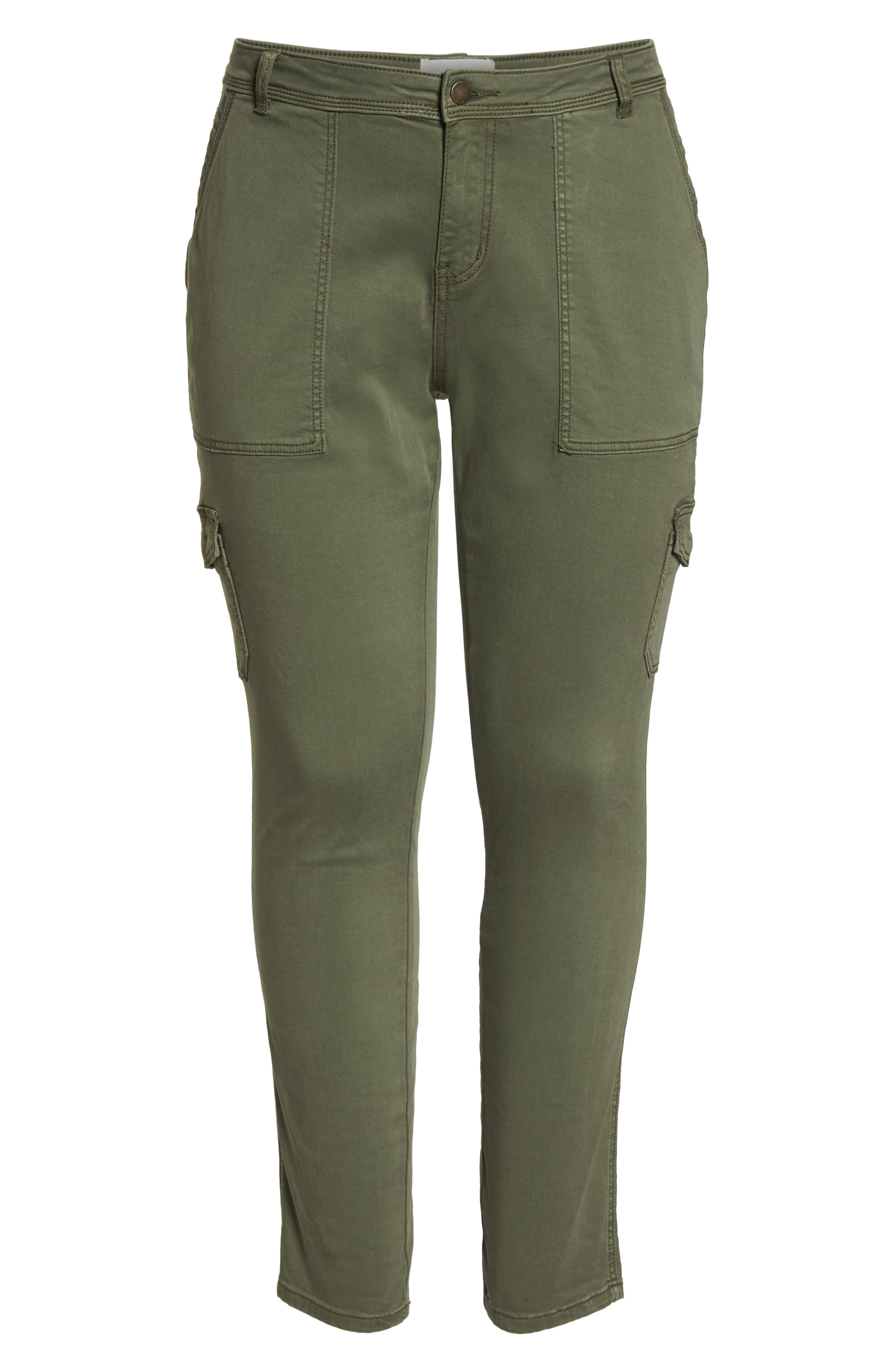 Stretch Twill Utility Pants,                             Alternate thumbnail 7, color,                             301