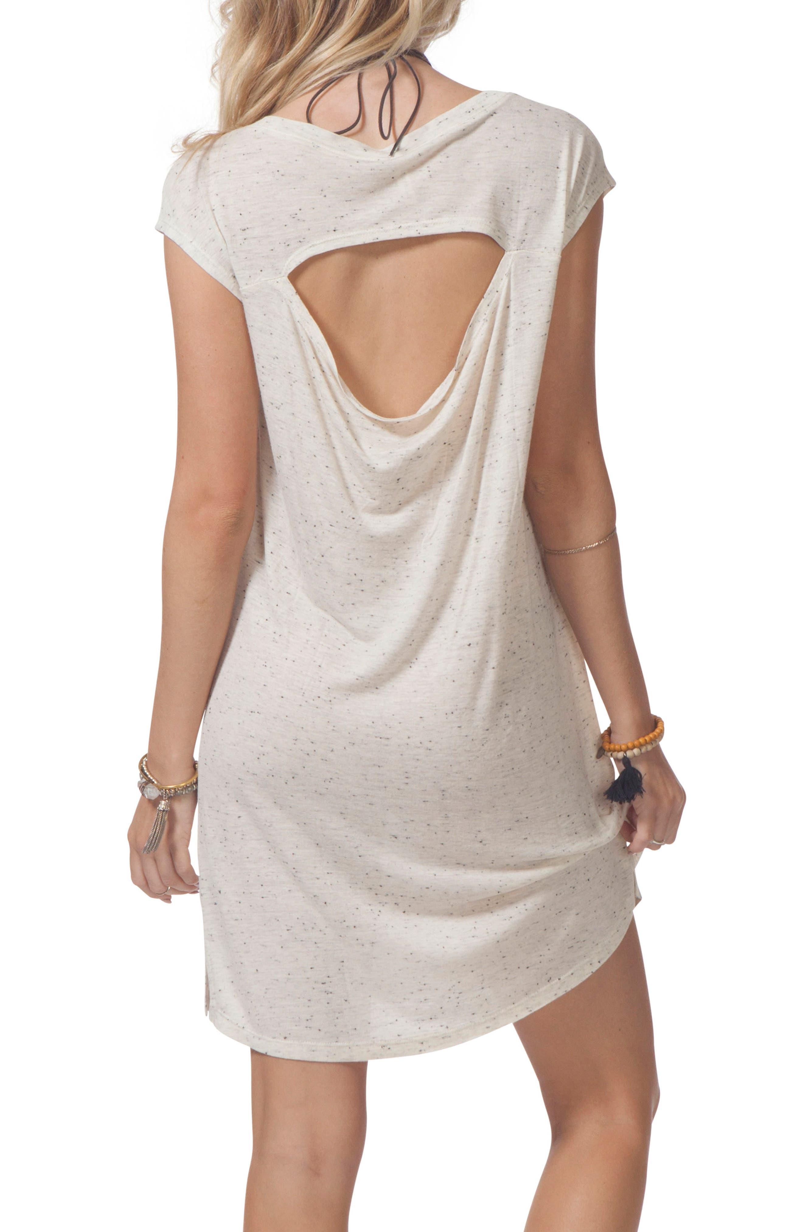 Premium Surf Knit Dress,                             Alternate thumbnail 3, color,