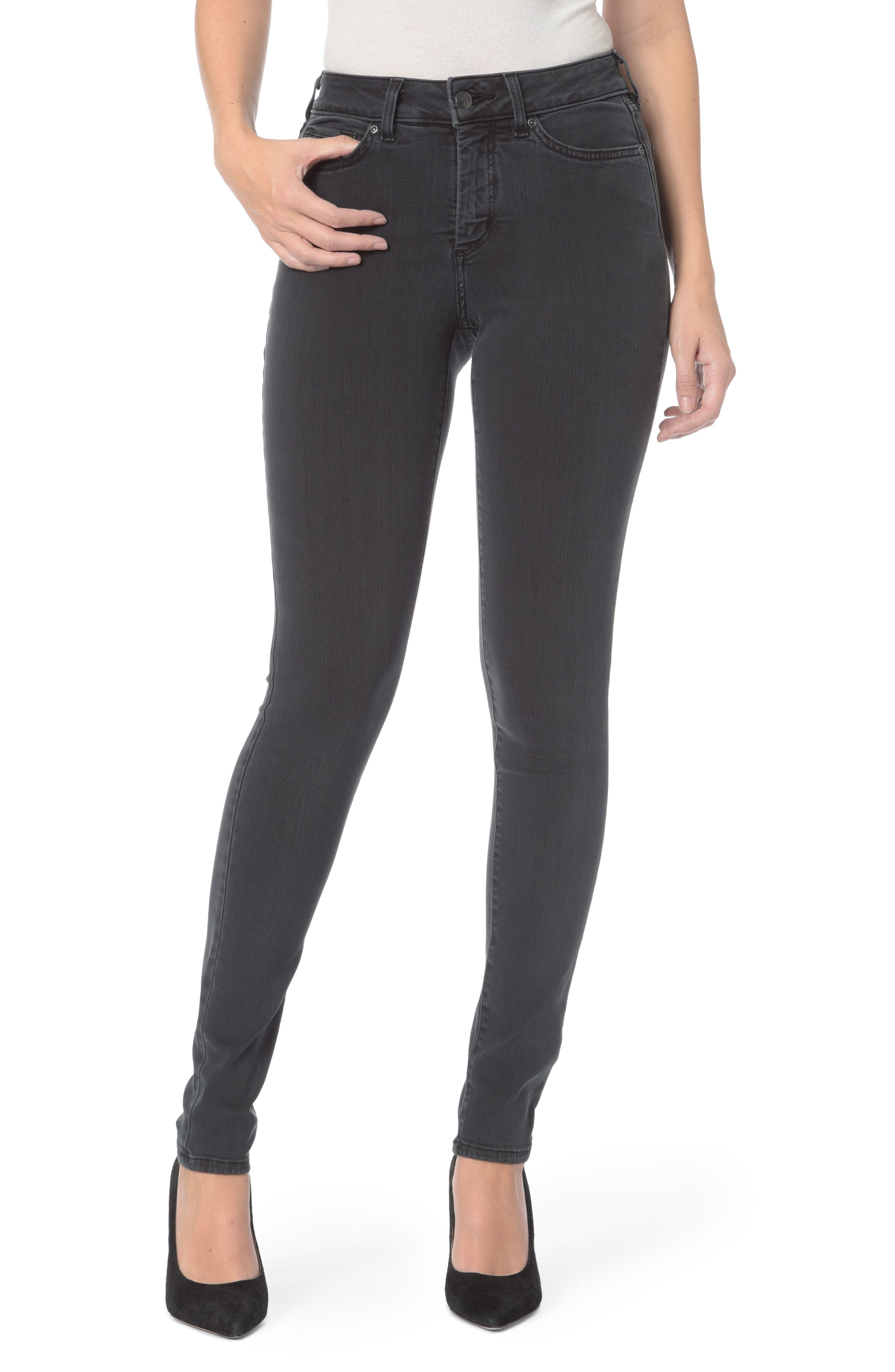 Ami Stretch Super Skinny Jeans,                             Main thumbnail 4, color,