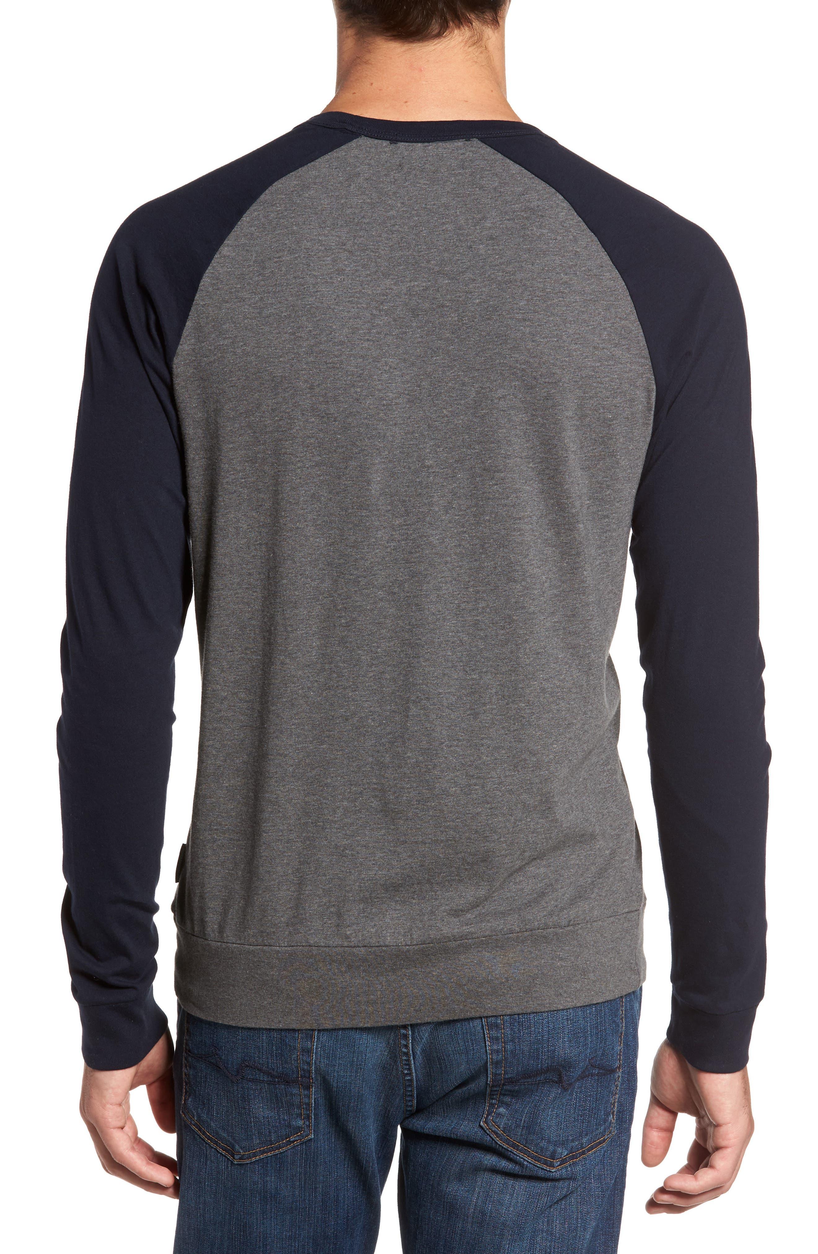 Classic Long Sleeve Raglan T-Shirt,                             Alternate thumbnail 2, color,                             025