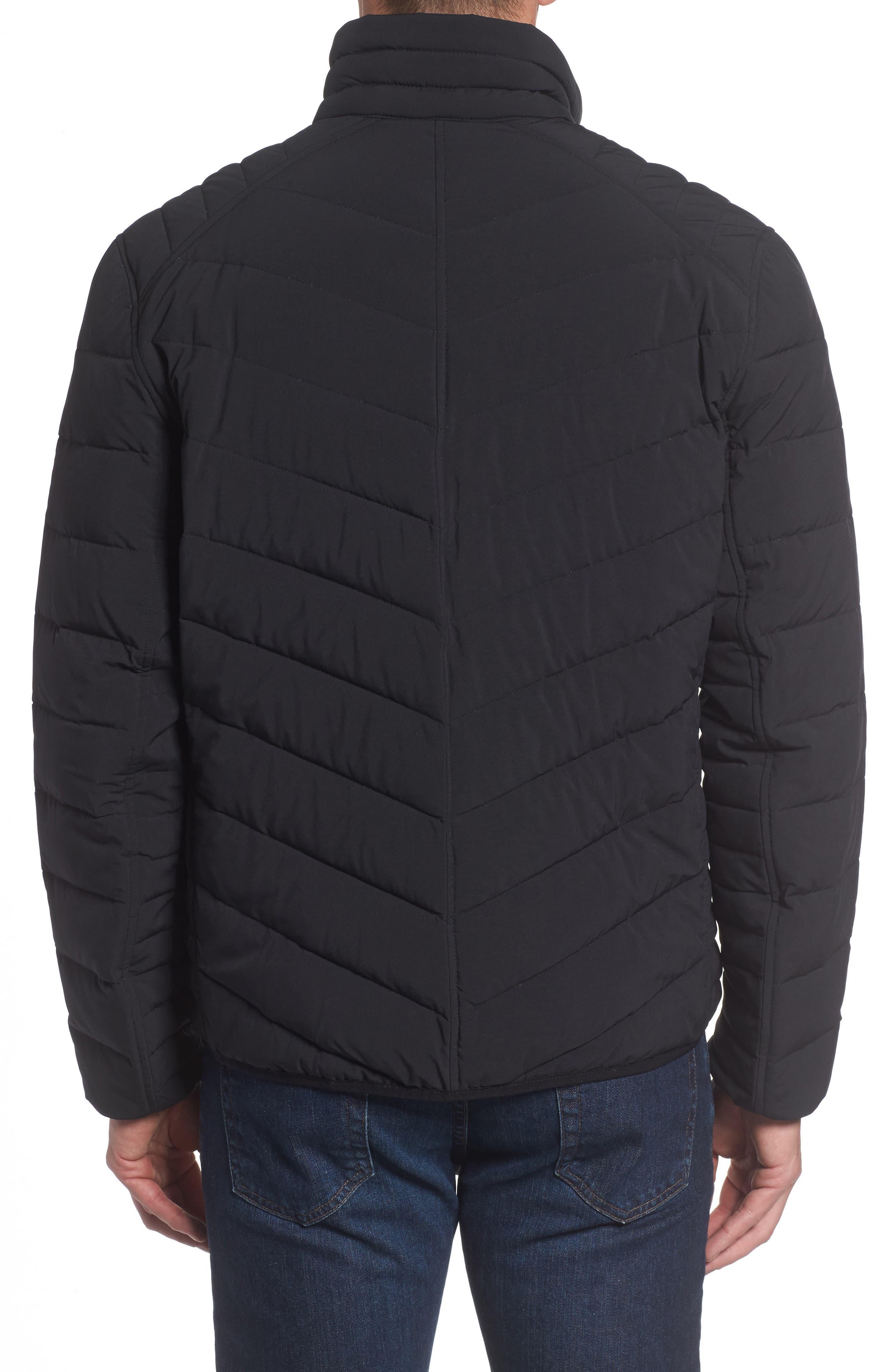 Stretch Packable Down Jacket,                             Alternate thumbnail 2, color,                             001