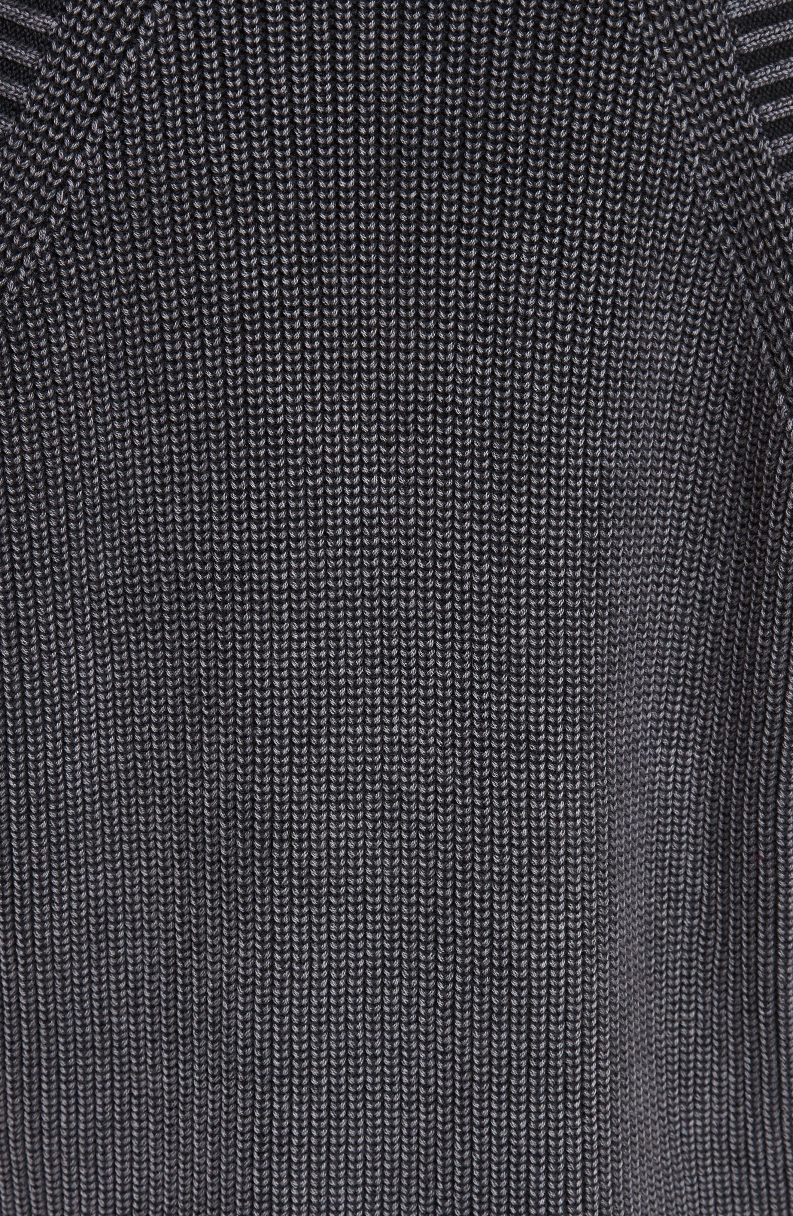 RAG & BONE,                             JEAN Dana Cold Shoulder Sweater,                             Alternate thumbnail 5, color,                             001