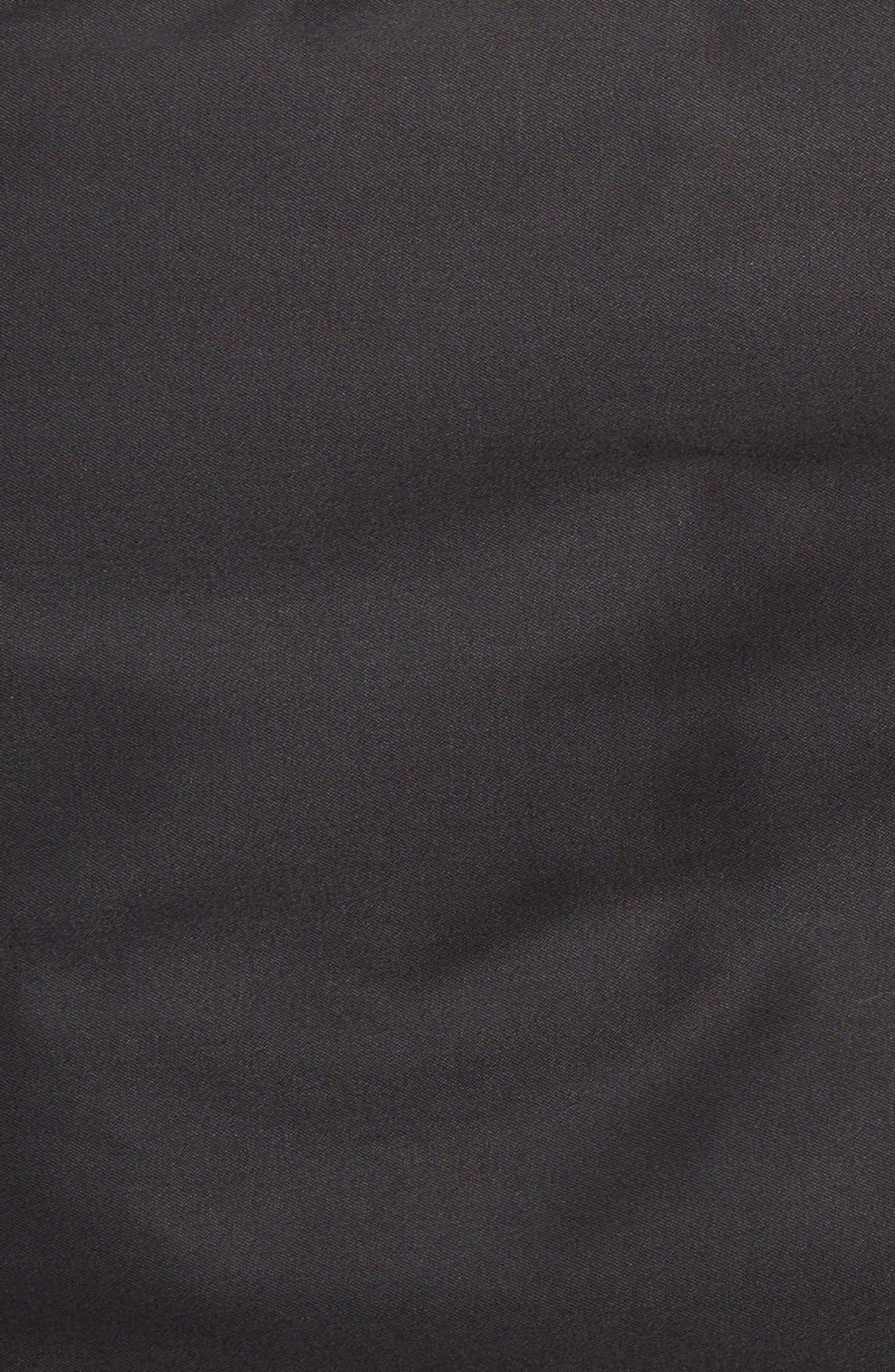 Barrington Classic Fit Cotton Blend Trench Coat,                             Alternate thumbnail 5, color,                             001