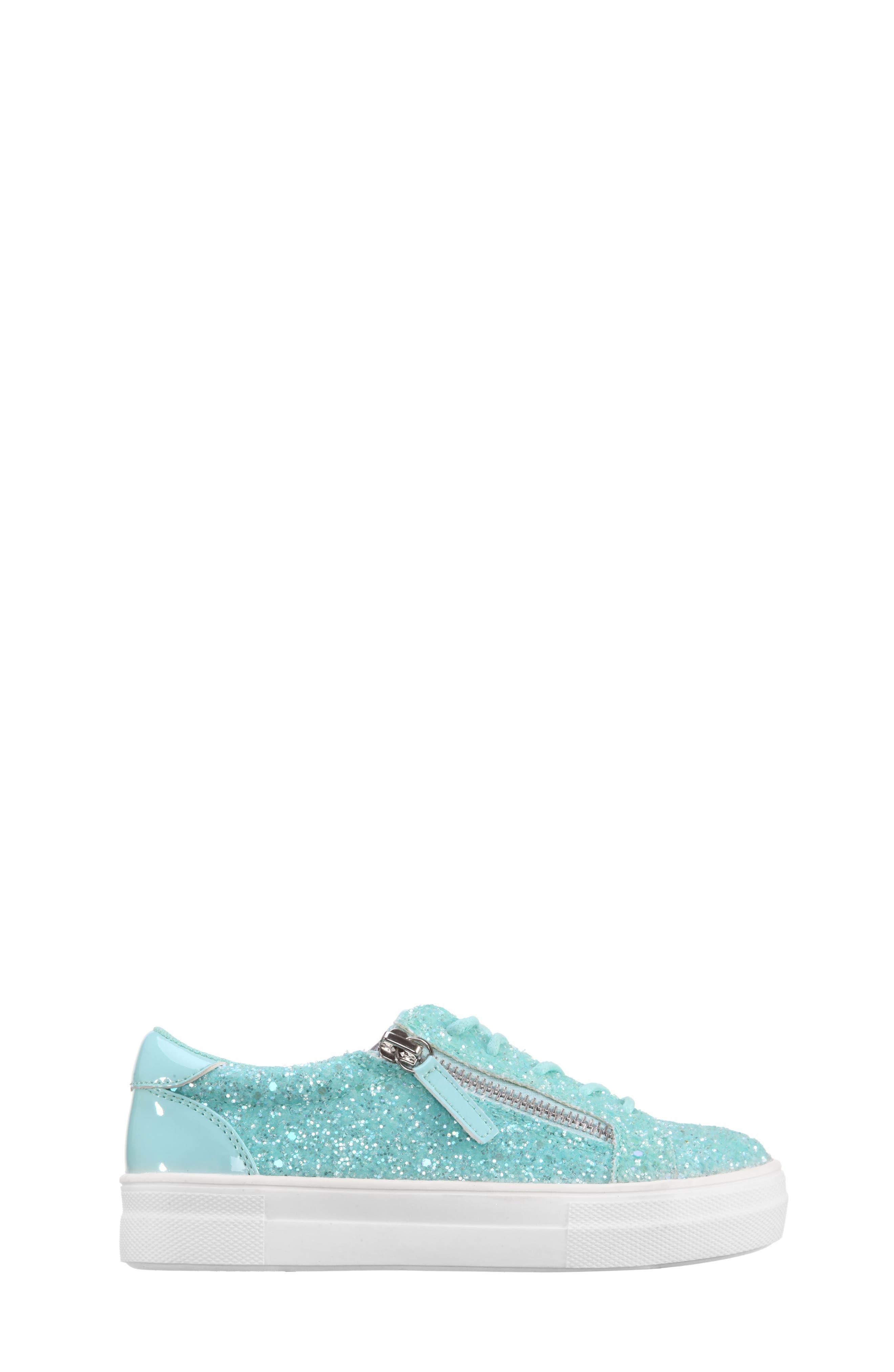Jennalyn Glitter Sneaker,                             Alternate thumbnail 3, color,                             440
