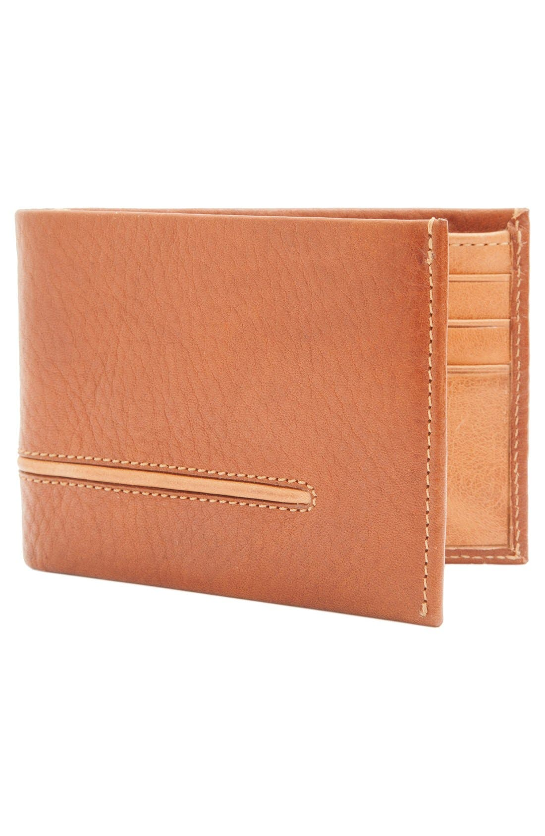 Leather L-Fold Wallet,                             Alternate thumbnail 2, color,