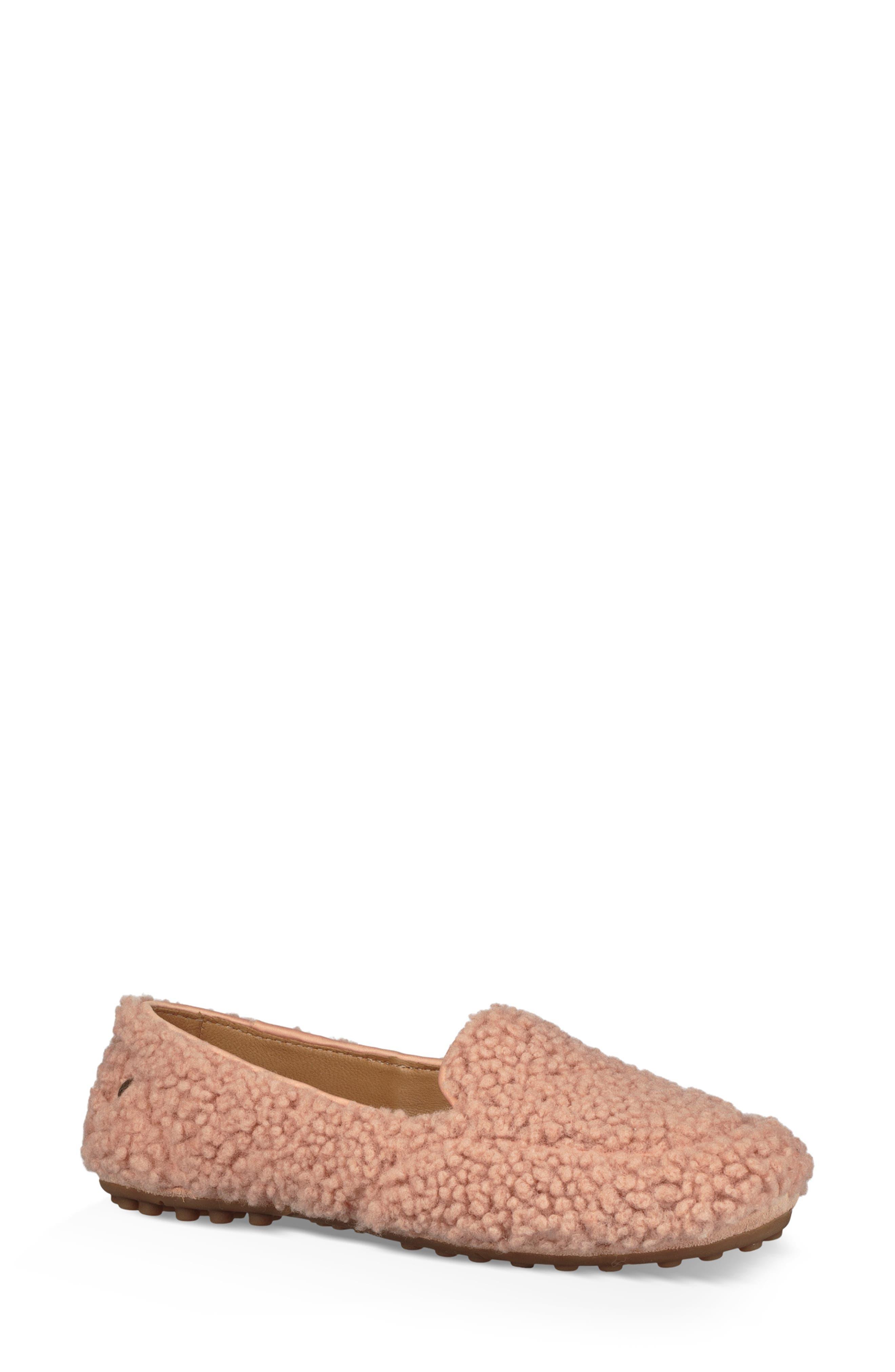 Ugg Hailey Fluff Genuine Shearling Slipper, Pink