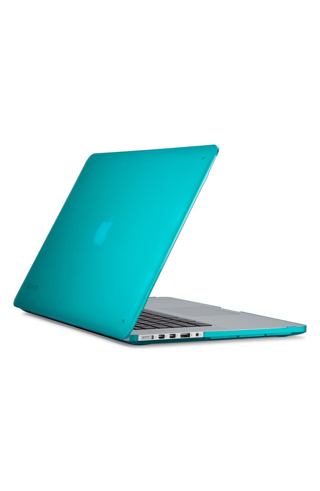 SPECK,                             'SeeThru' Snap-On MacBook Pro Retina Laptop Case,                             Main thumbnail 1, color,                             401