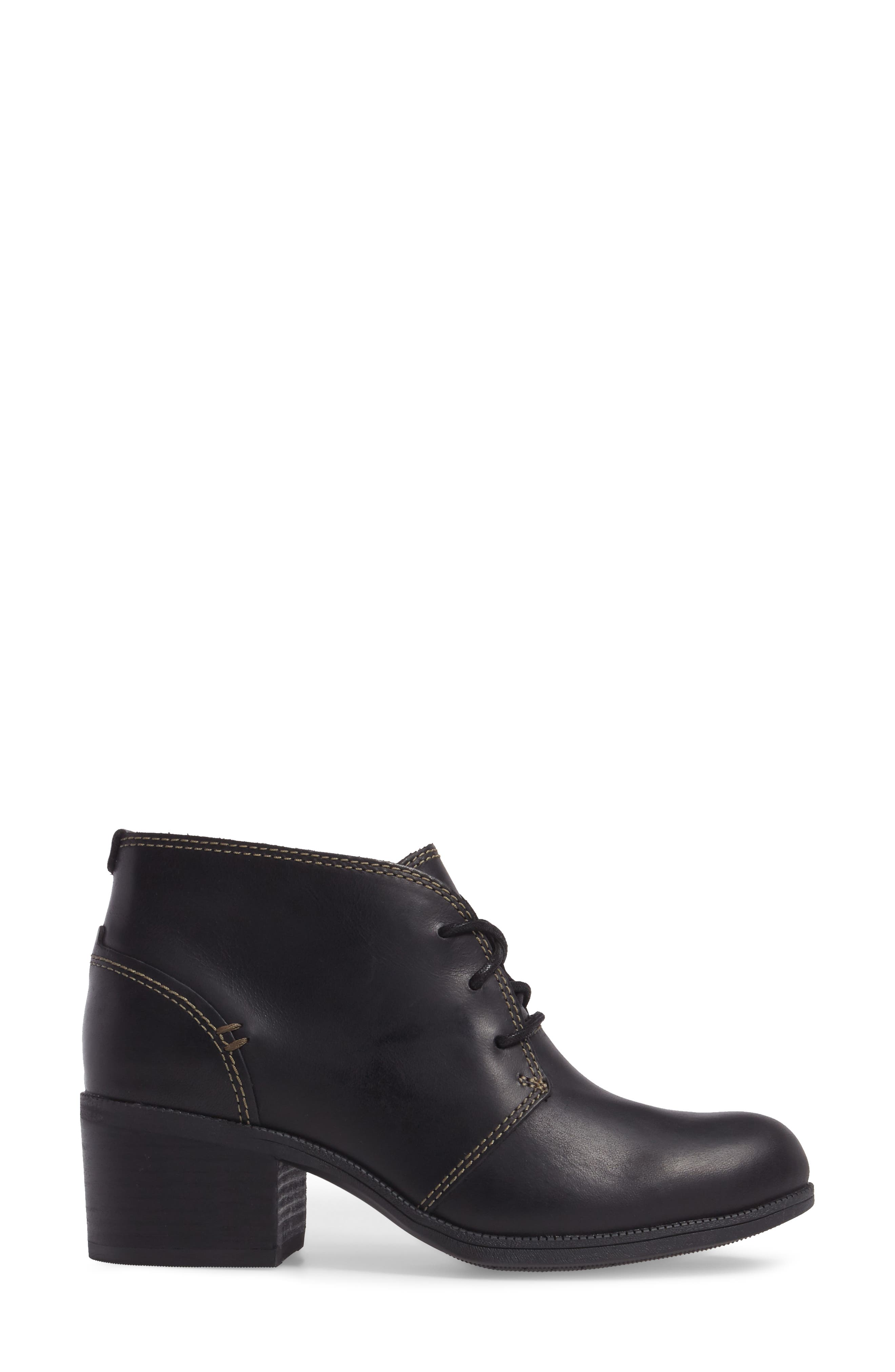 Maypearl Floral Boot,                             Alternate thumbnail 3, color,                             001