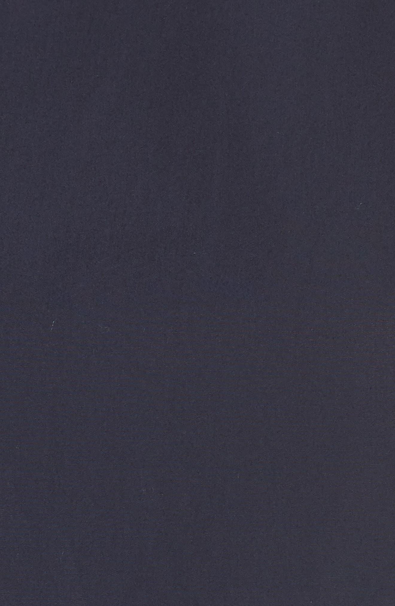 Two-Tone Tie Waist Sheath Dress,                             Alternate thumbnail 6, color,                             401