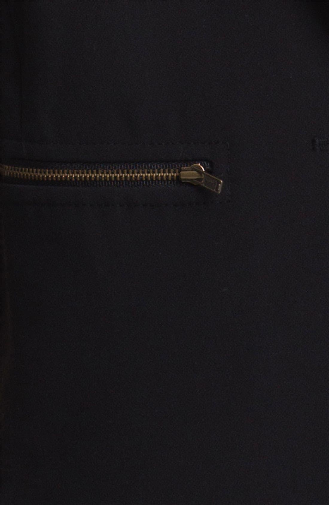 Zip Pocket Blazer,                             Alternate thumbnail 2, color,                             001