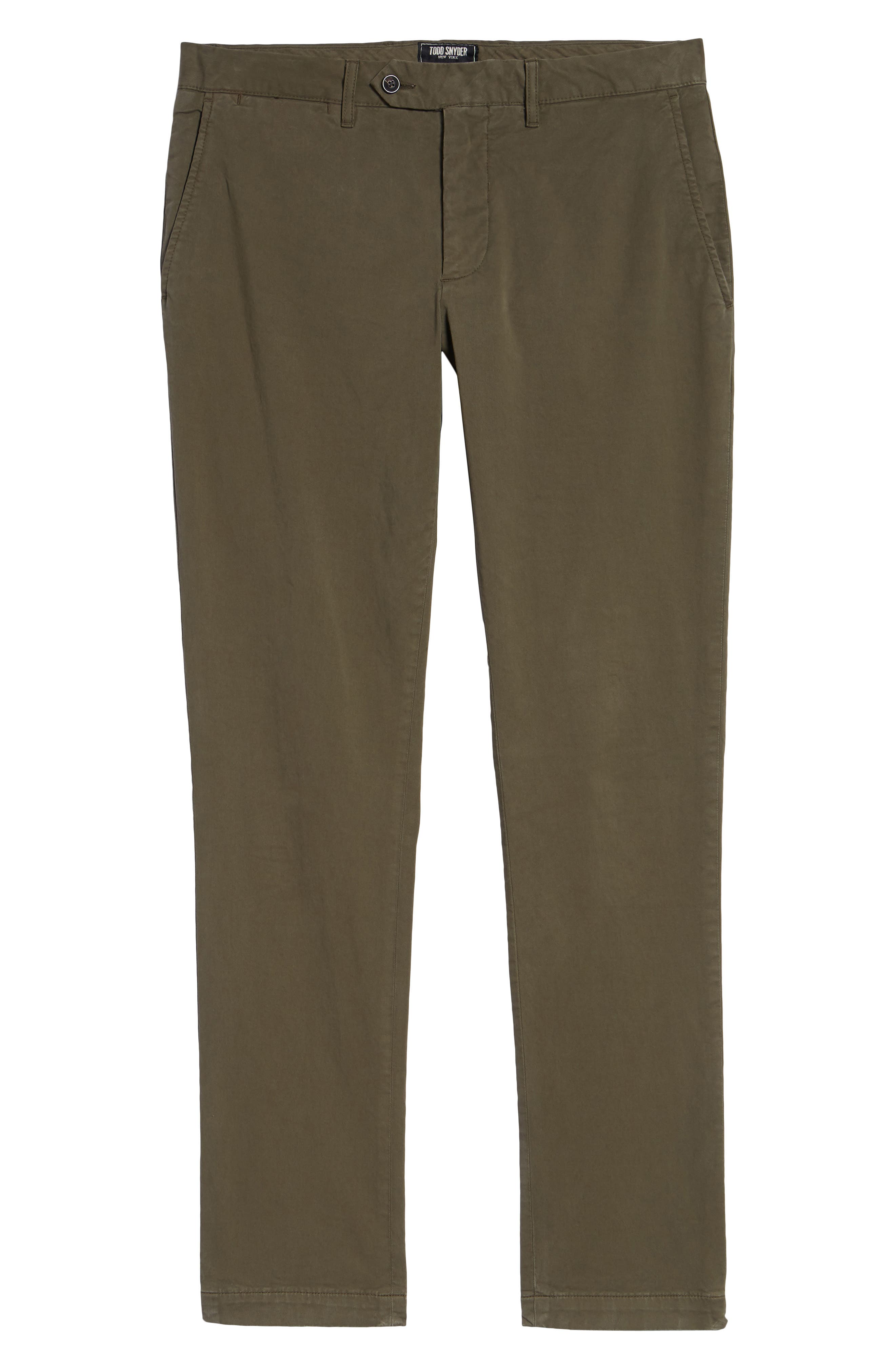 Stretch Twill Chino Pants,                             Alternate thumbnail 6, color,                             340