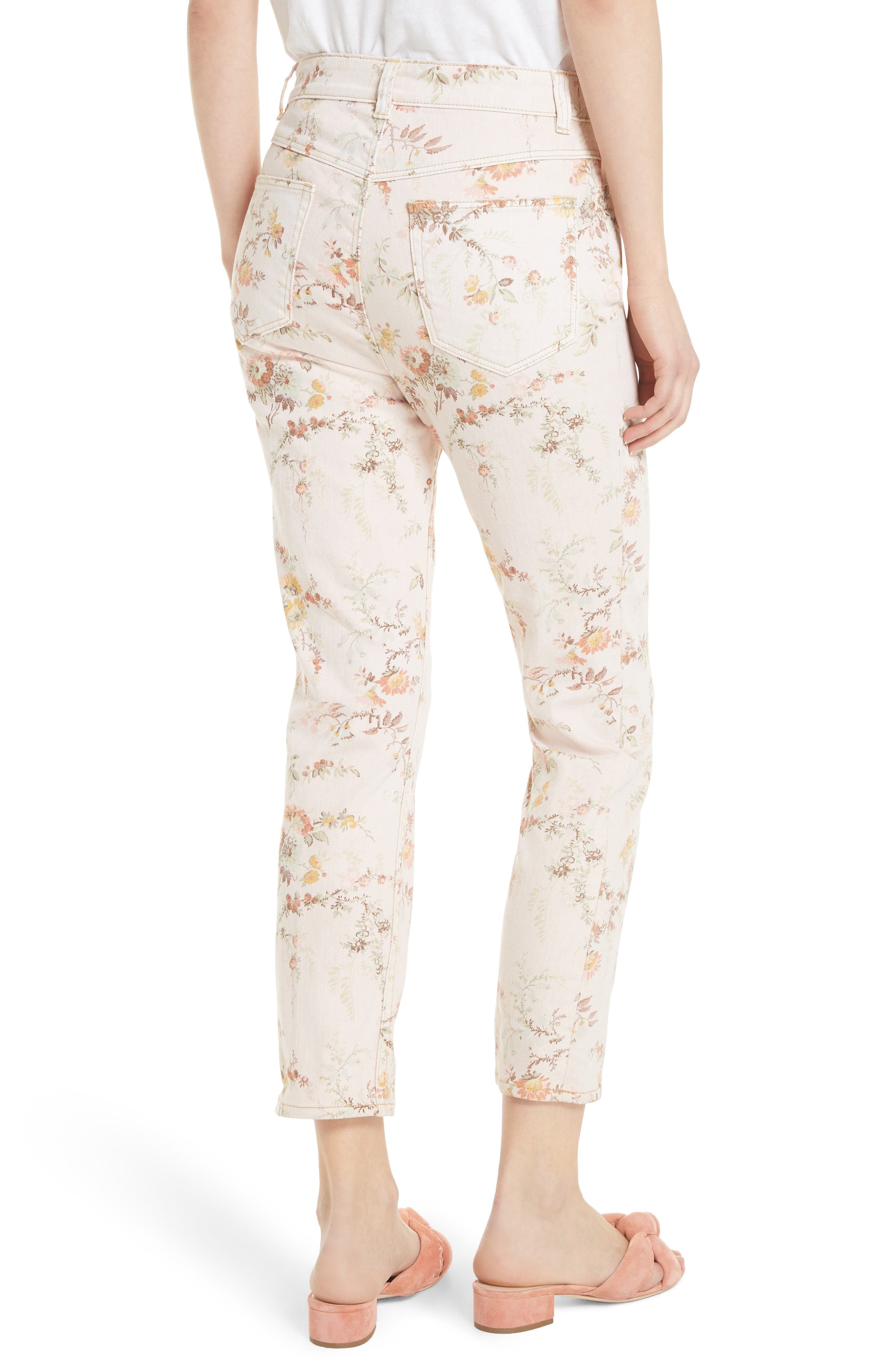 Belle Bouquet Ines Ankle Jeans,                             Alternate thumbnail 2, color,                             903