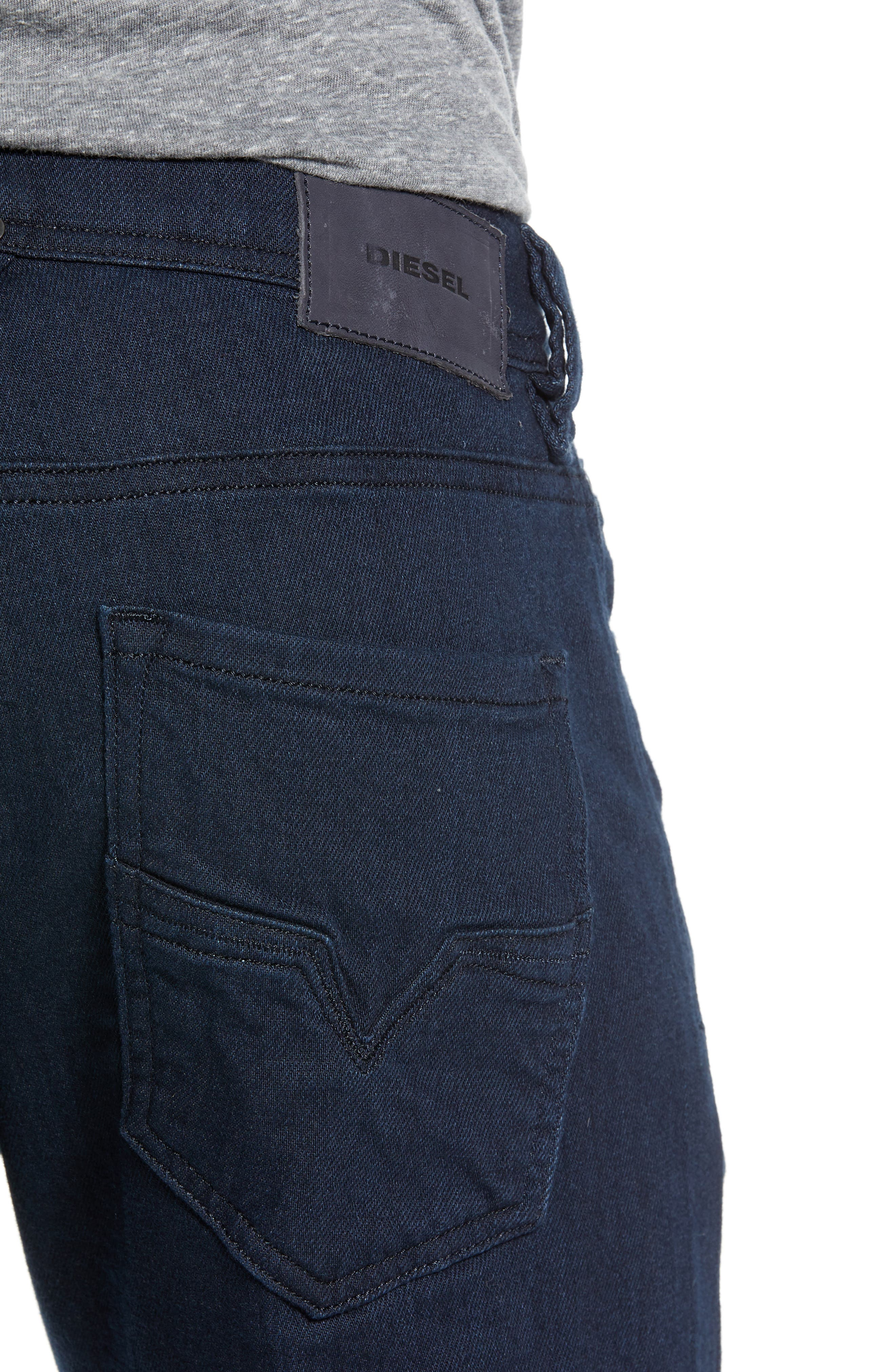 DIESEL<SUP>®</SUP>,                             Larkee Relaxed Fit Jeans,                             Alternate thumbnail 4, color,                             400