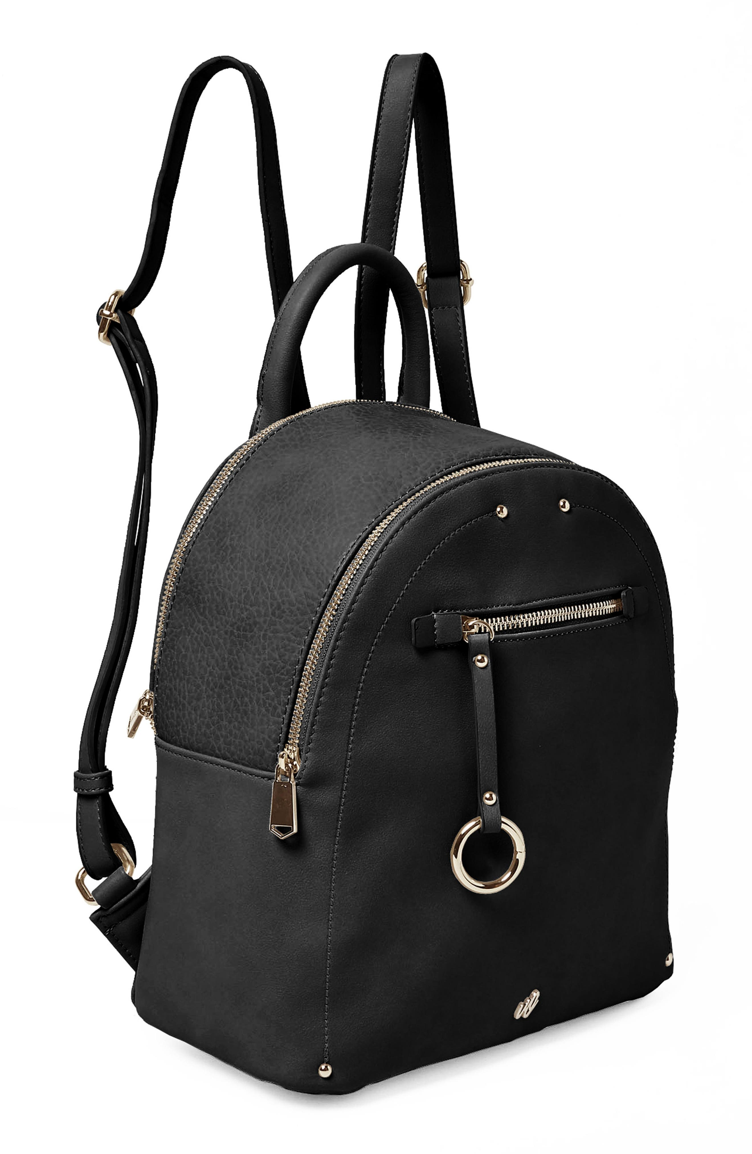 Into the Night Vegan Leather Backpack,                             Alternate thumbnail 10, color,