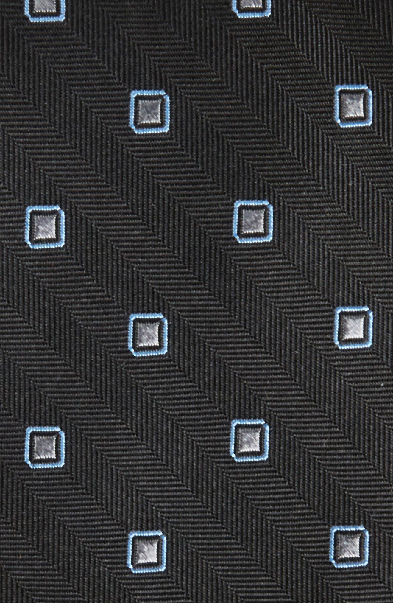 Open Ground Silk Tie,                             Alternate thumbnail 2, color,                             001