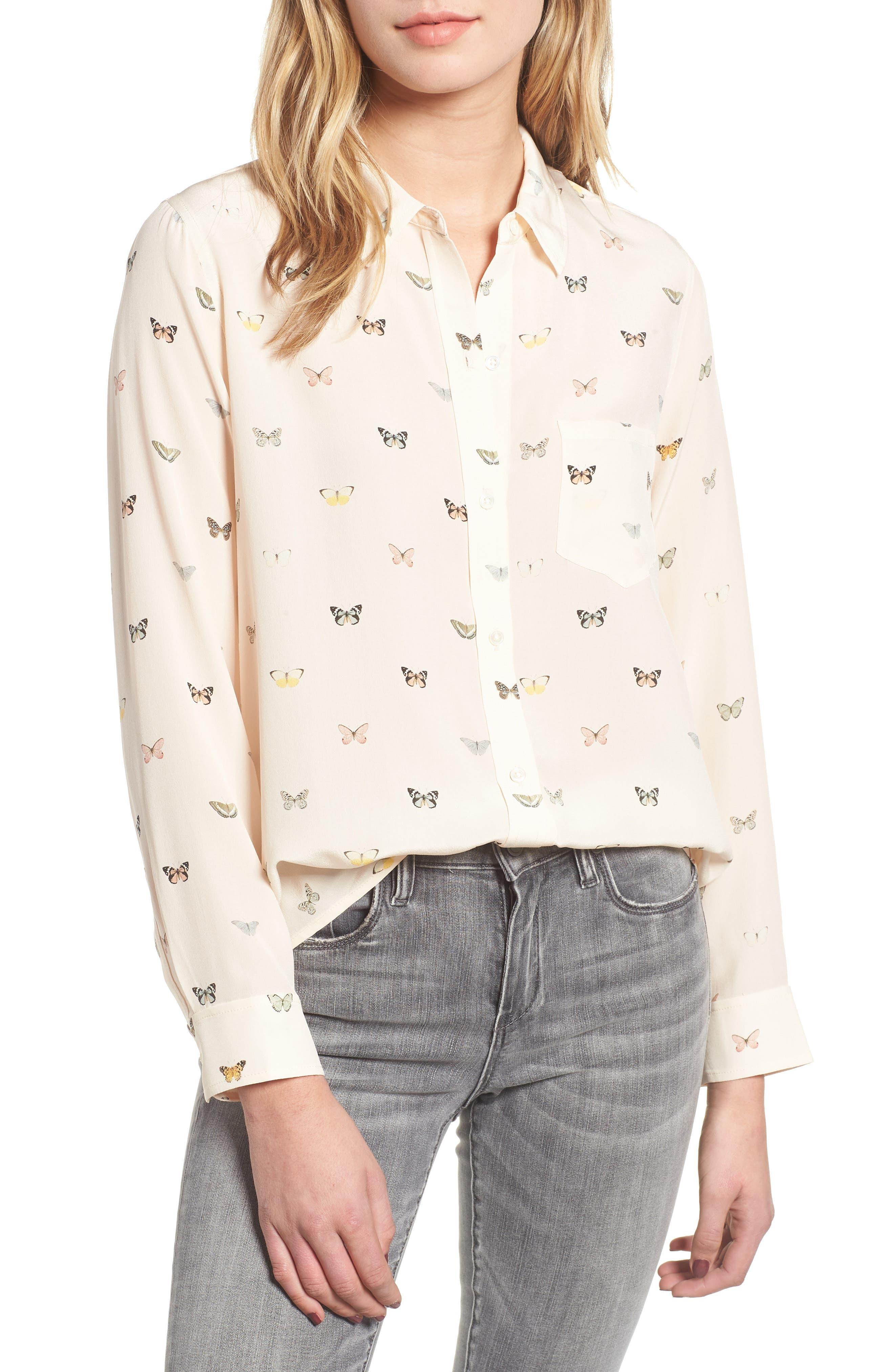 Kate Print Shirt,                             Main thumbnail 17, color,