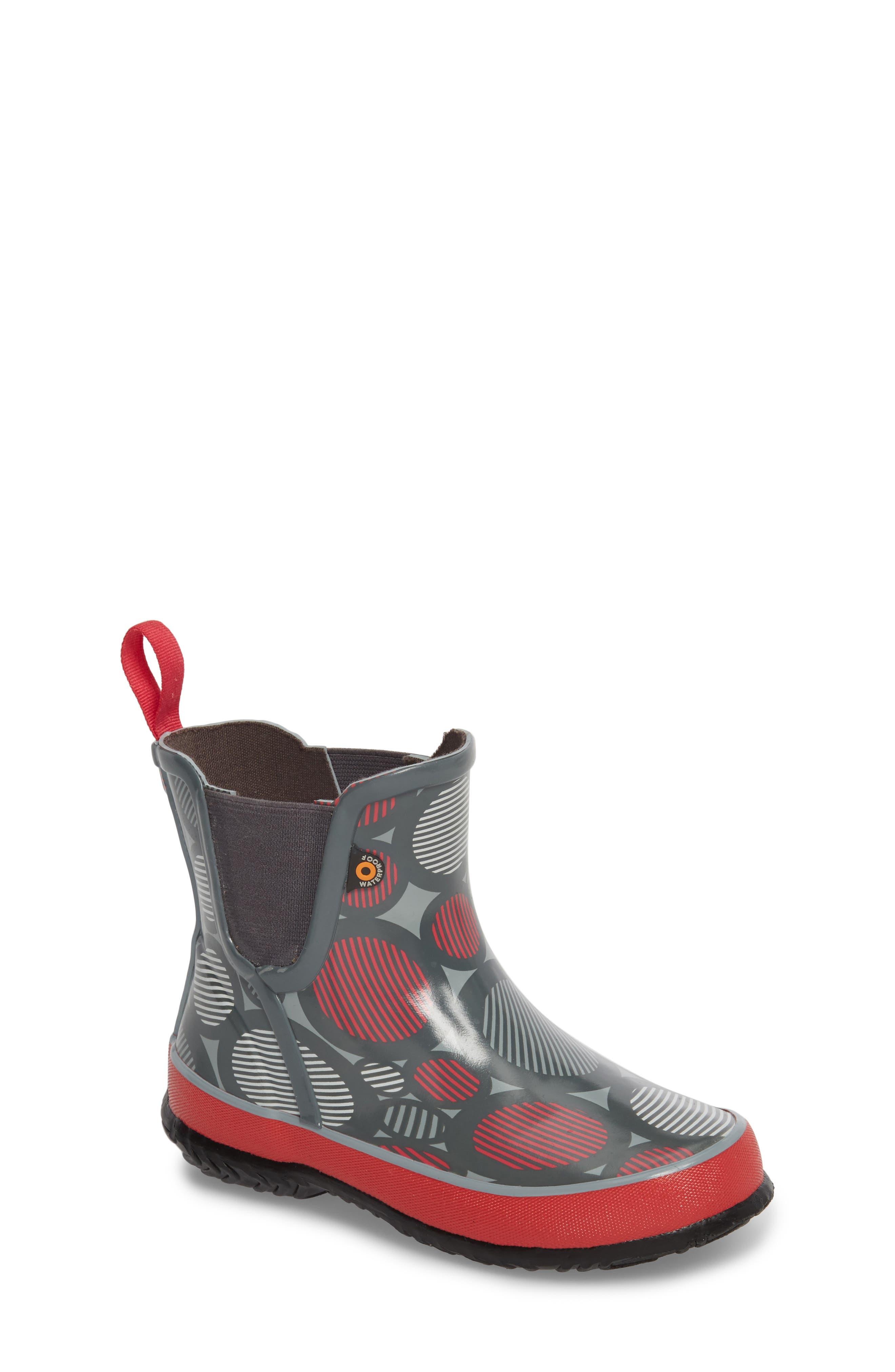 Amanda Multi Dot Waterproof Rain Boot,                         Main,                         color, 062