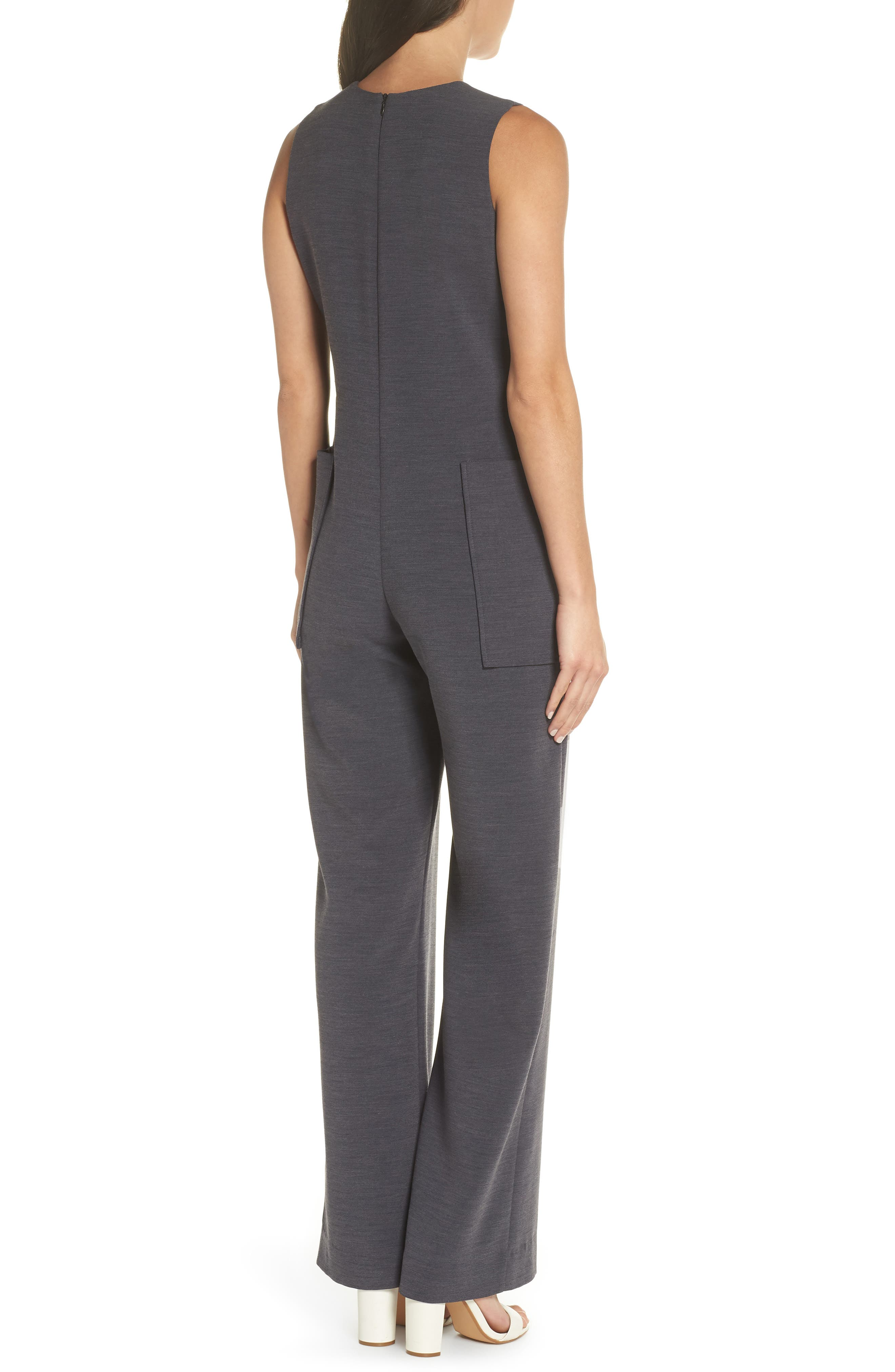 Harbor V-Neck Jumpsuit,                             Alternate thumbnail 2, color,                             020