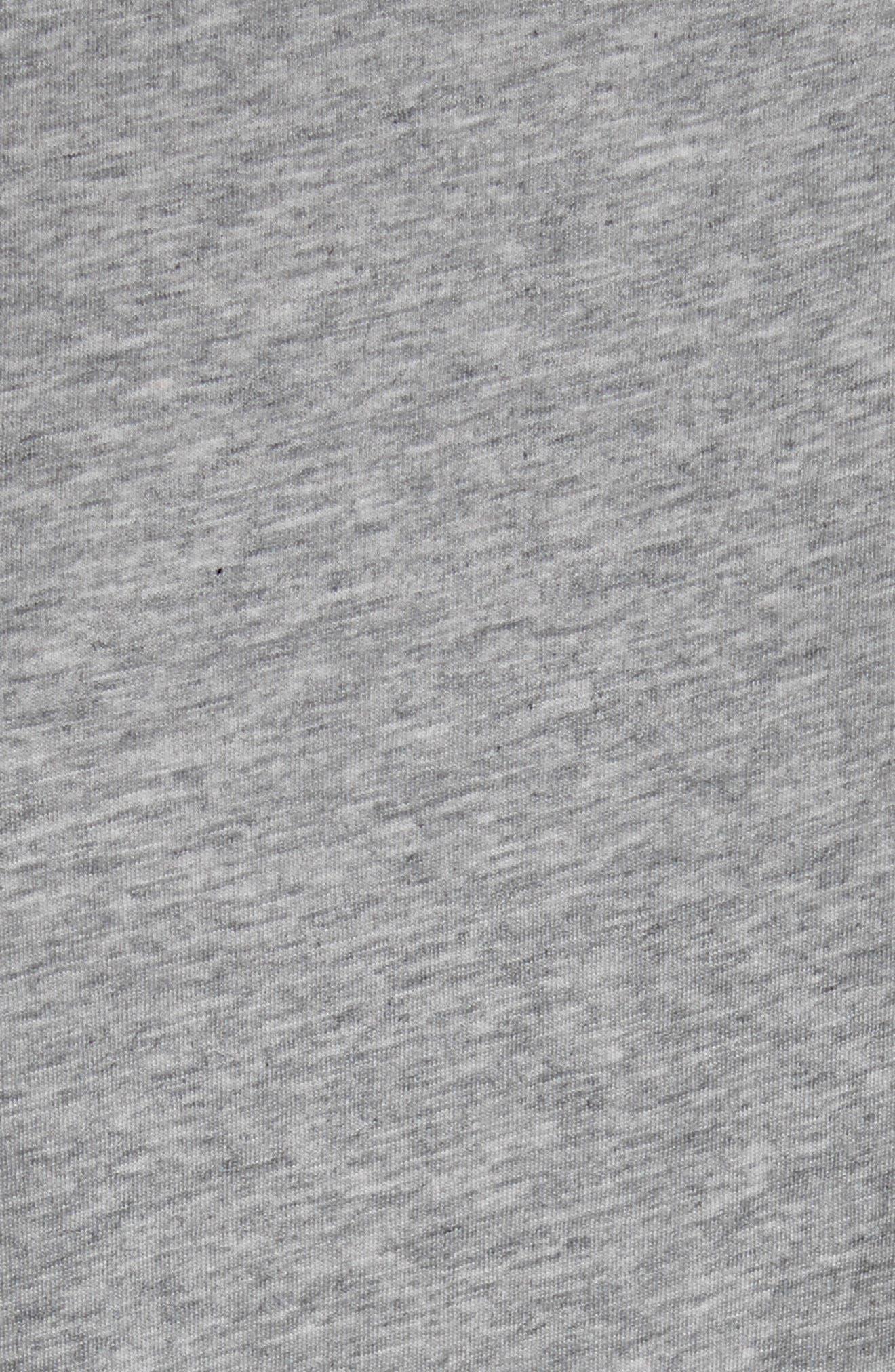 Alyra Tie Waist Cotton T-Shirt Dress,                             Alternate thumbnail 6, color,                             030