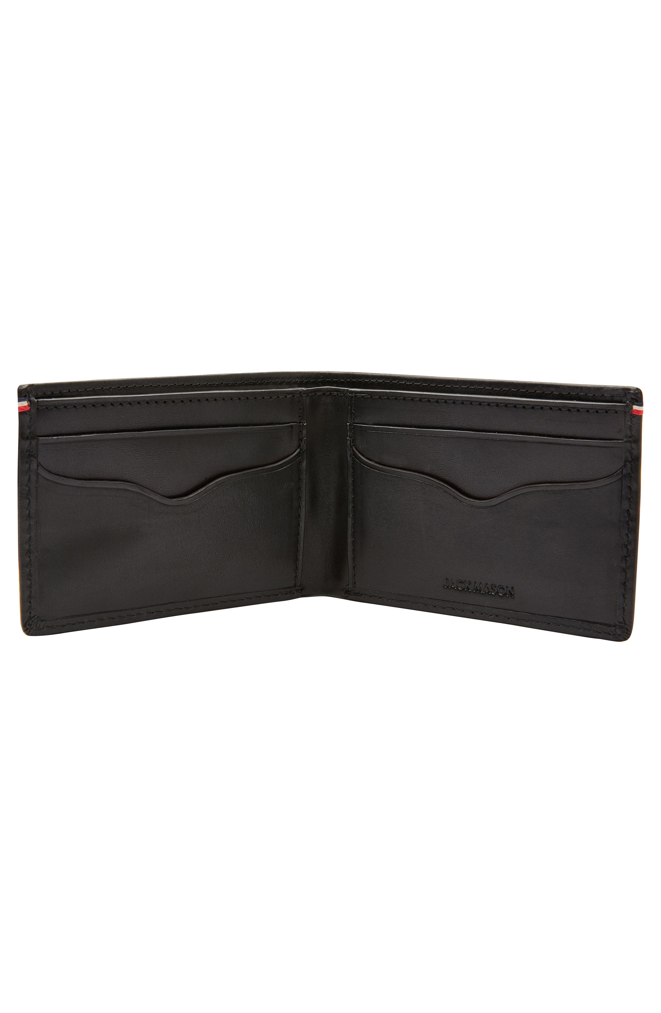 Core Slim Bifold Leather Wallet,                             Alternate thumbnail 2, color,                             001