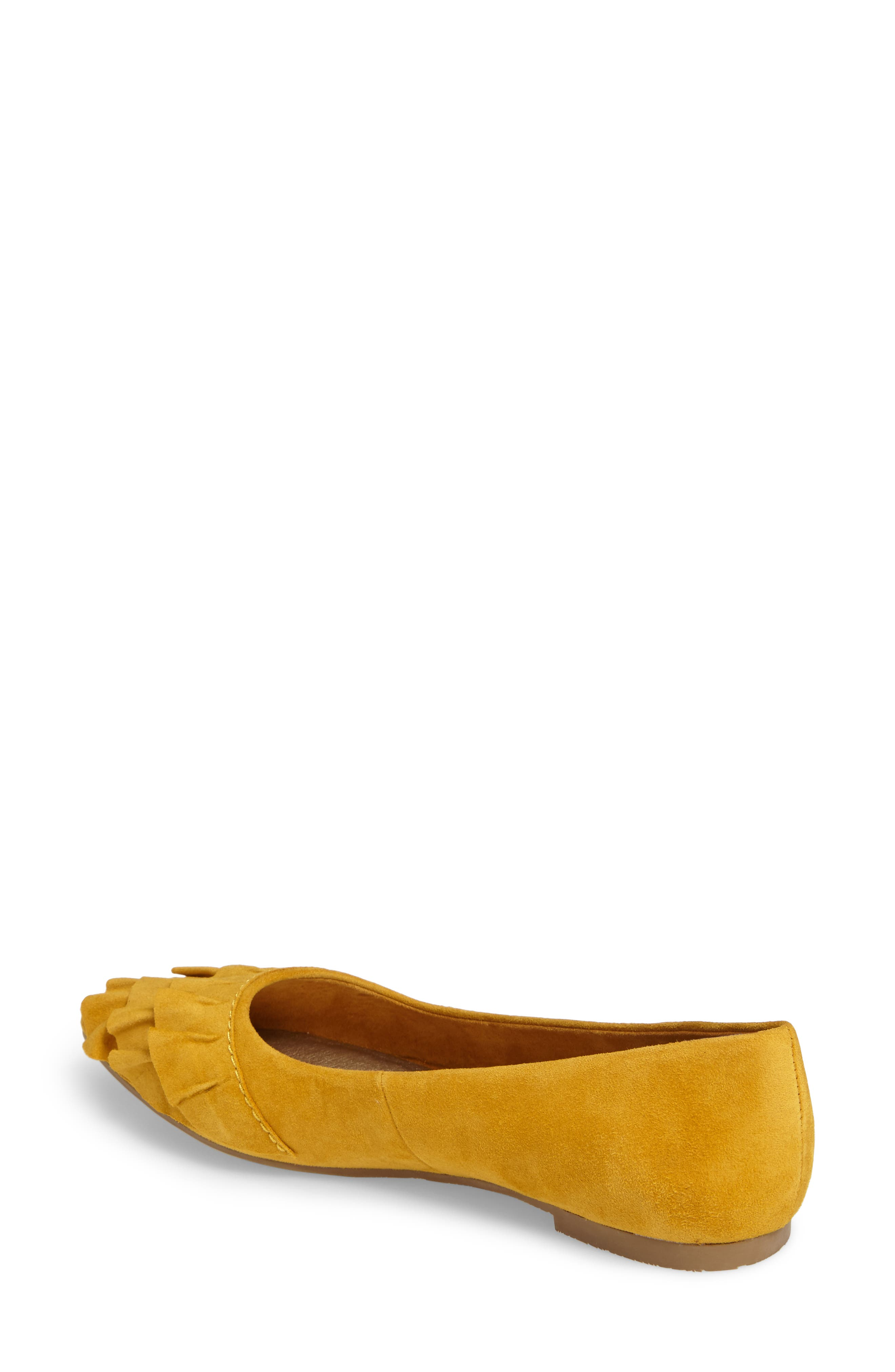 Downstage Pointy Toe Flat,                             Alternate thumbnail 10, color,