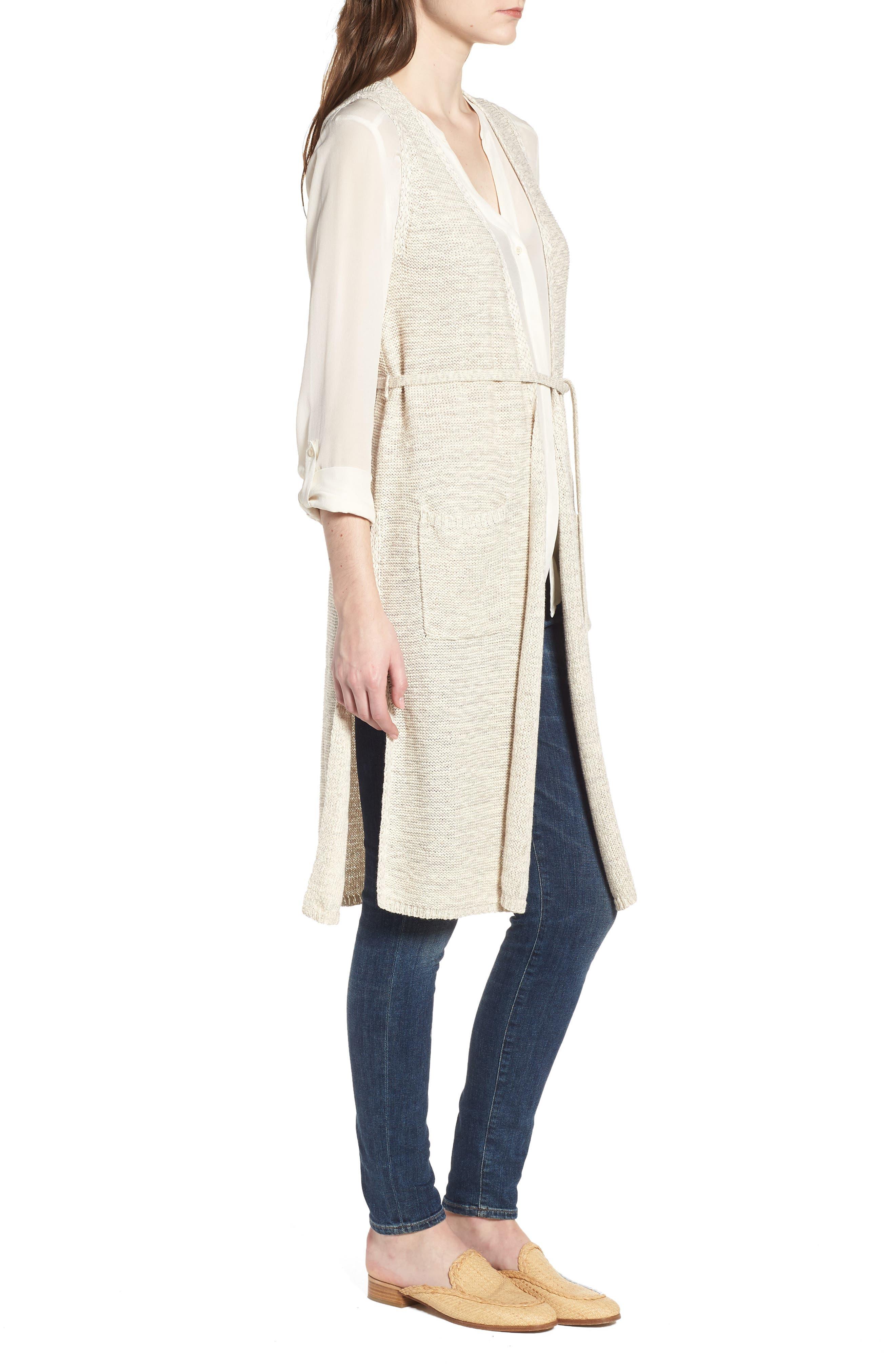 Achava Sweater Vest,                             Alternate thumbnail 3, color,                             NATURAL