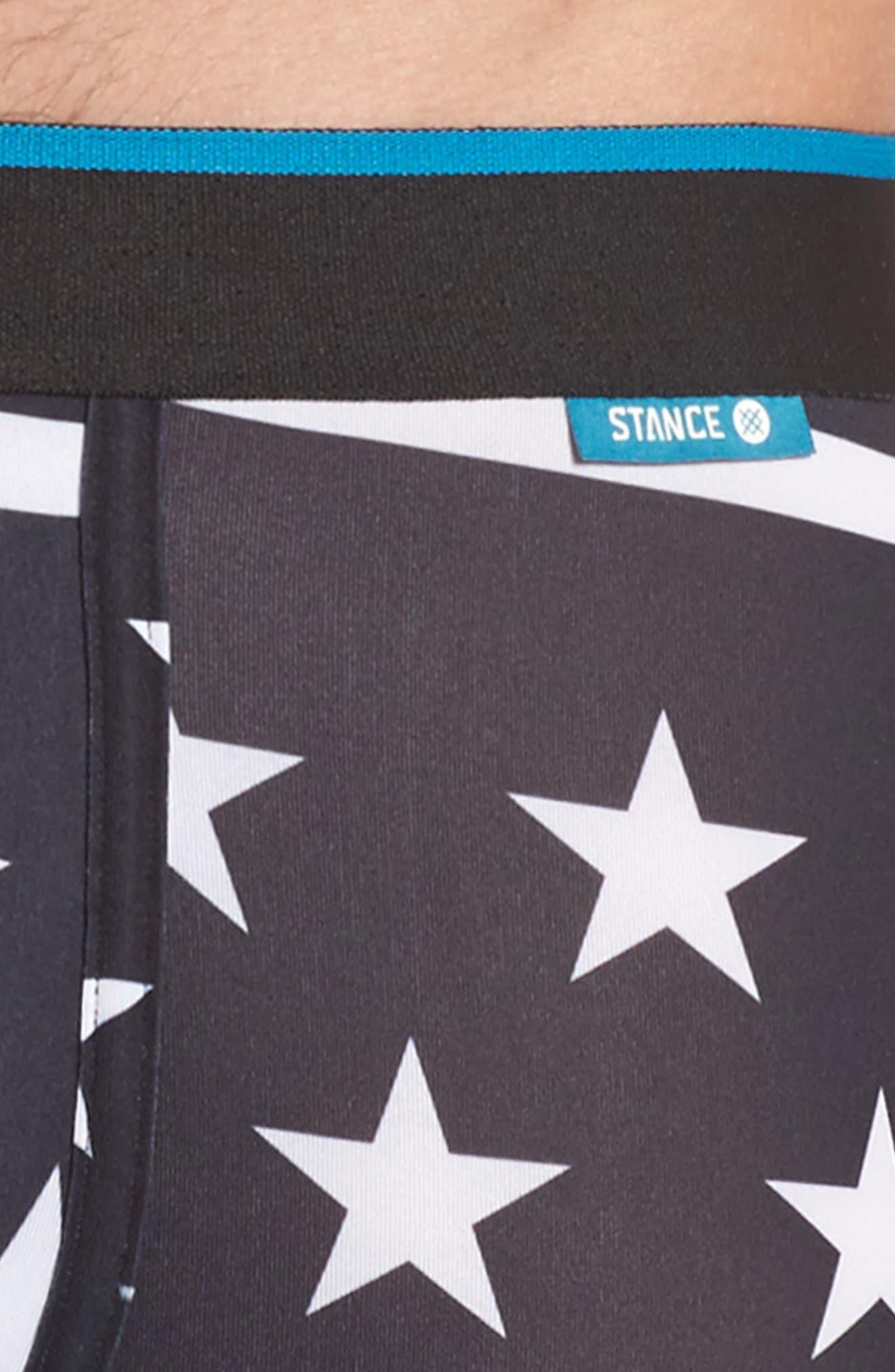 Militant Boxer Briefs,                             Alternate thumbnail 4, color,                             BLACK