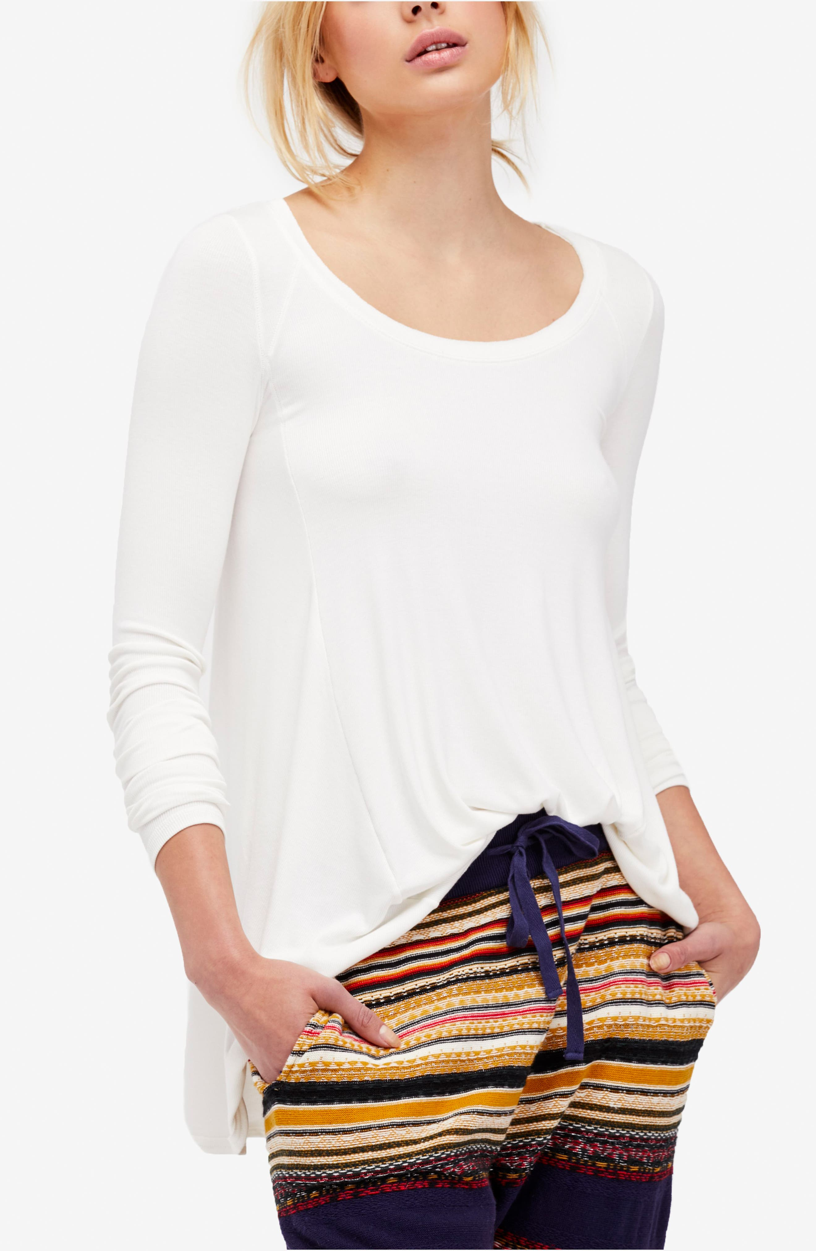 We the Free by Free People January Tee,                             Alternate thumbnail 7, color,                             IVORY