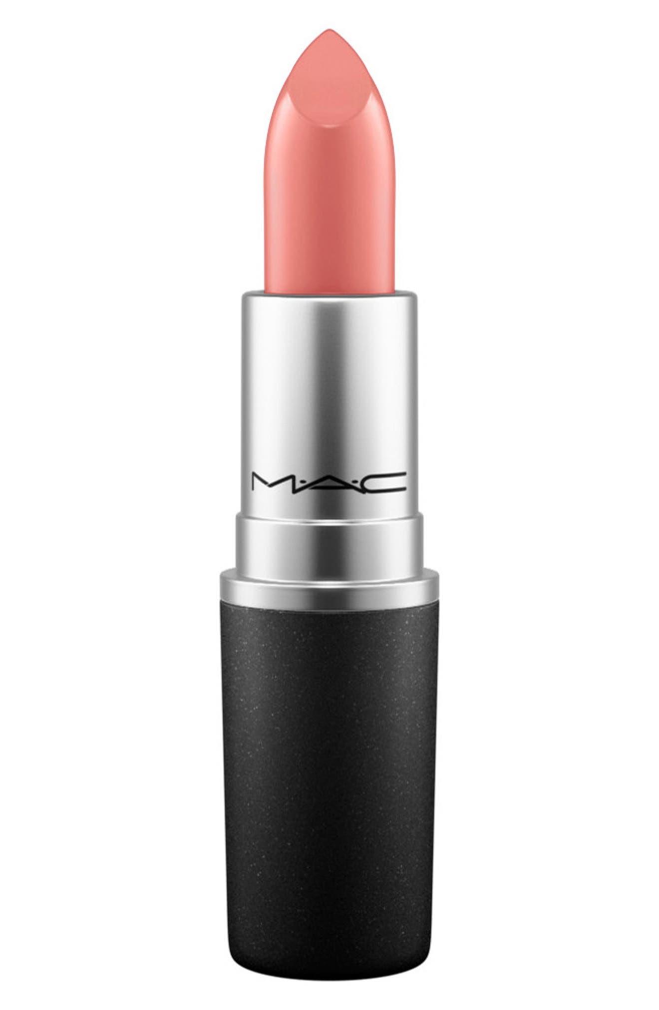 MAC Cremesheen + Pearl Lipstick,                         Main,                         color, SHANGHAI SPICE