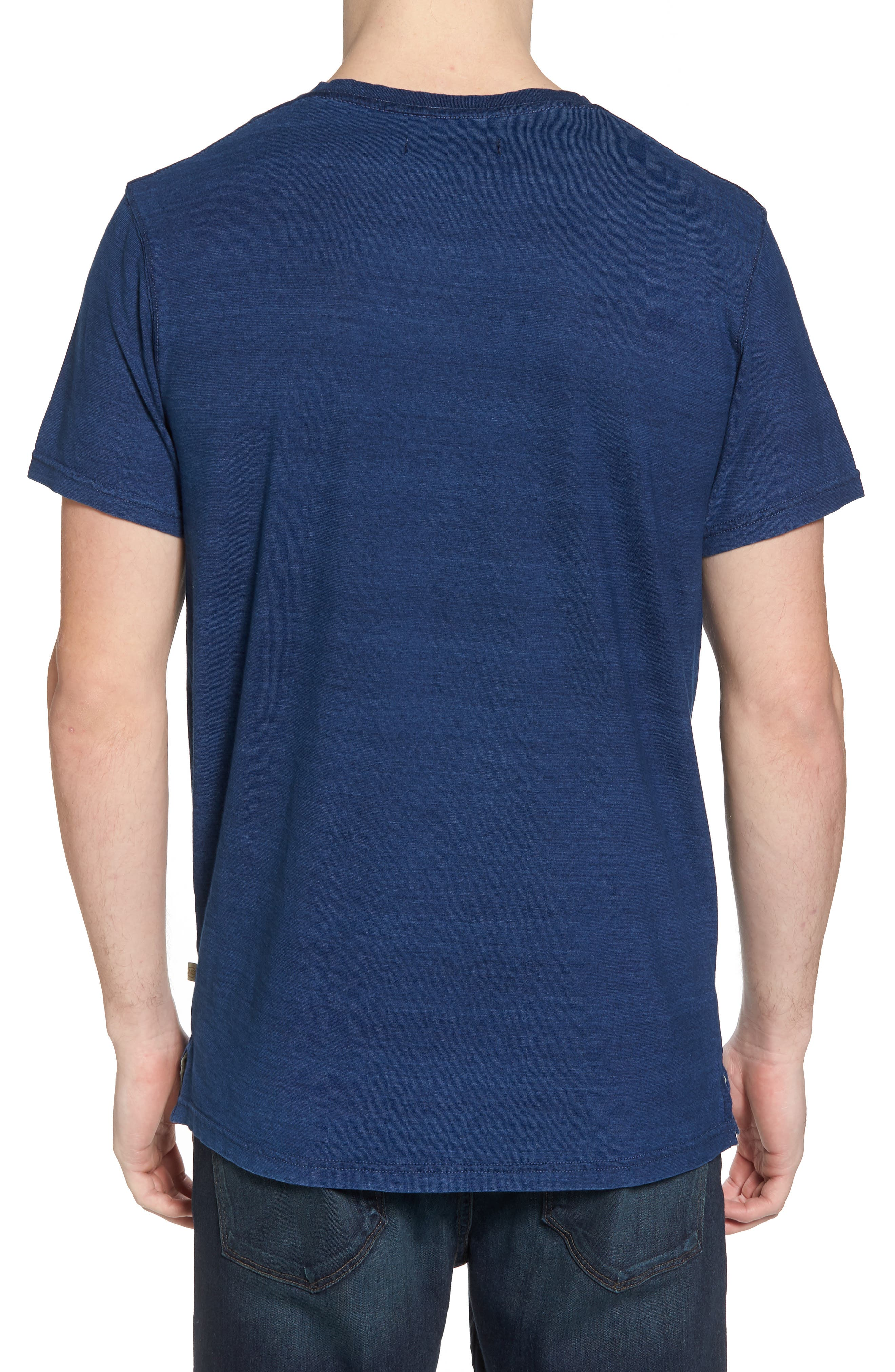 Marlon Slim Fit V-Neck Tee,                             Alternate thumbnail 2, color,                             401