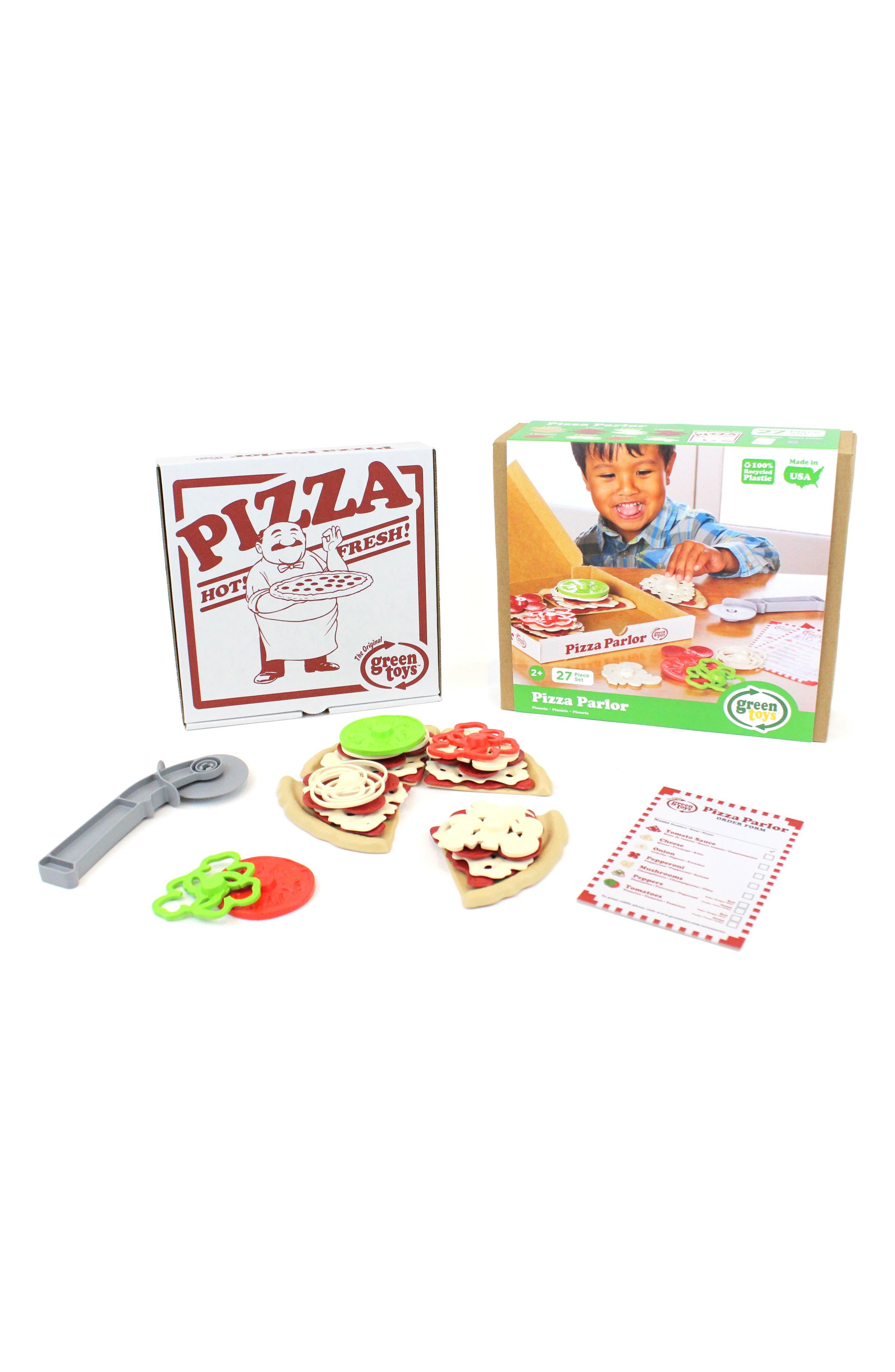 27-Piece Plastic Pizza Parlor Play Set,                             Alternate thumbnail 3, color,