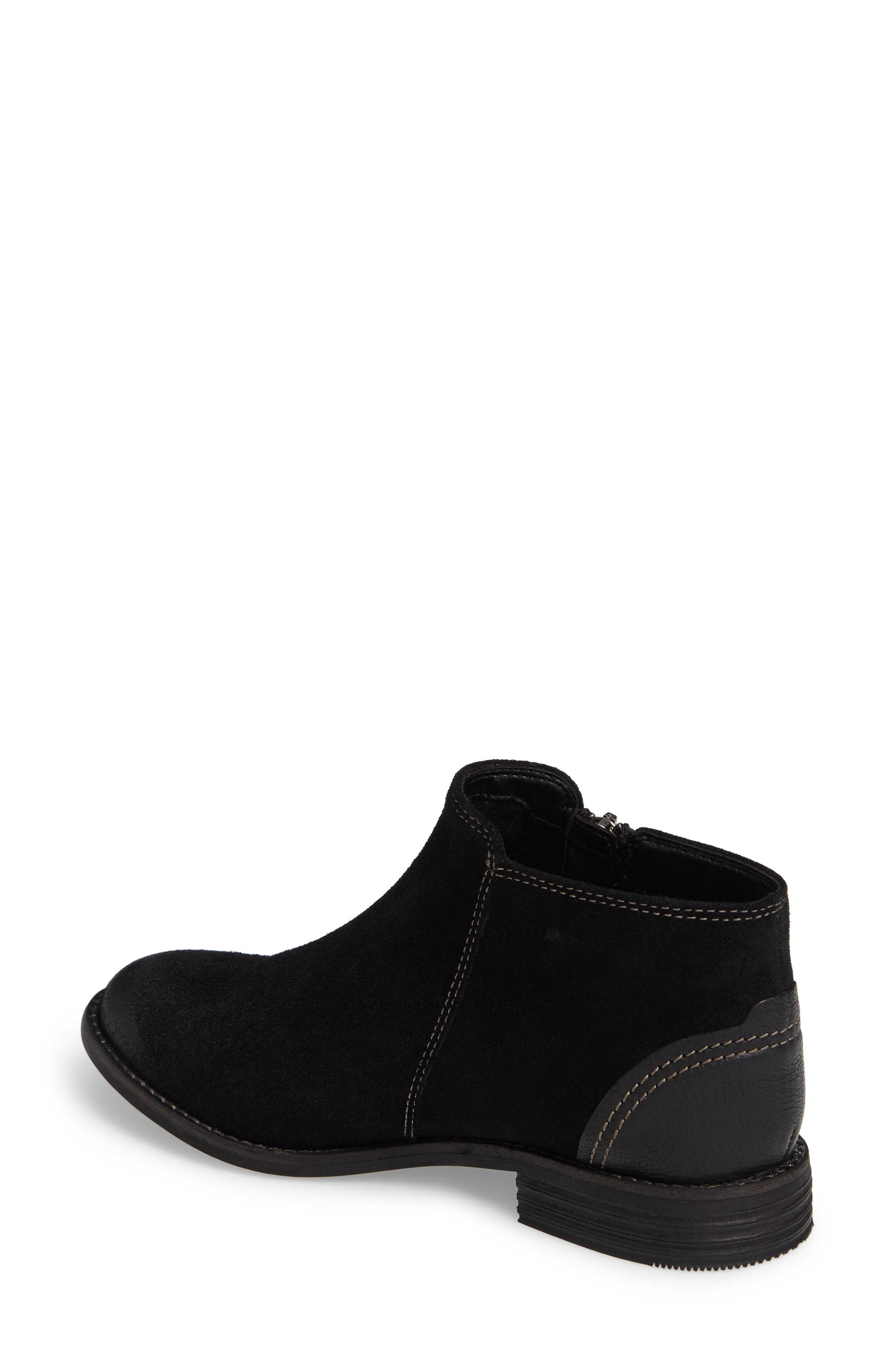 Maypearl Juno Ankle Boot,                             Alternate thumbnail 2, color,                             BLACK SUEDE