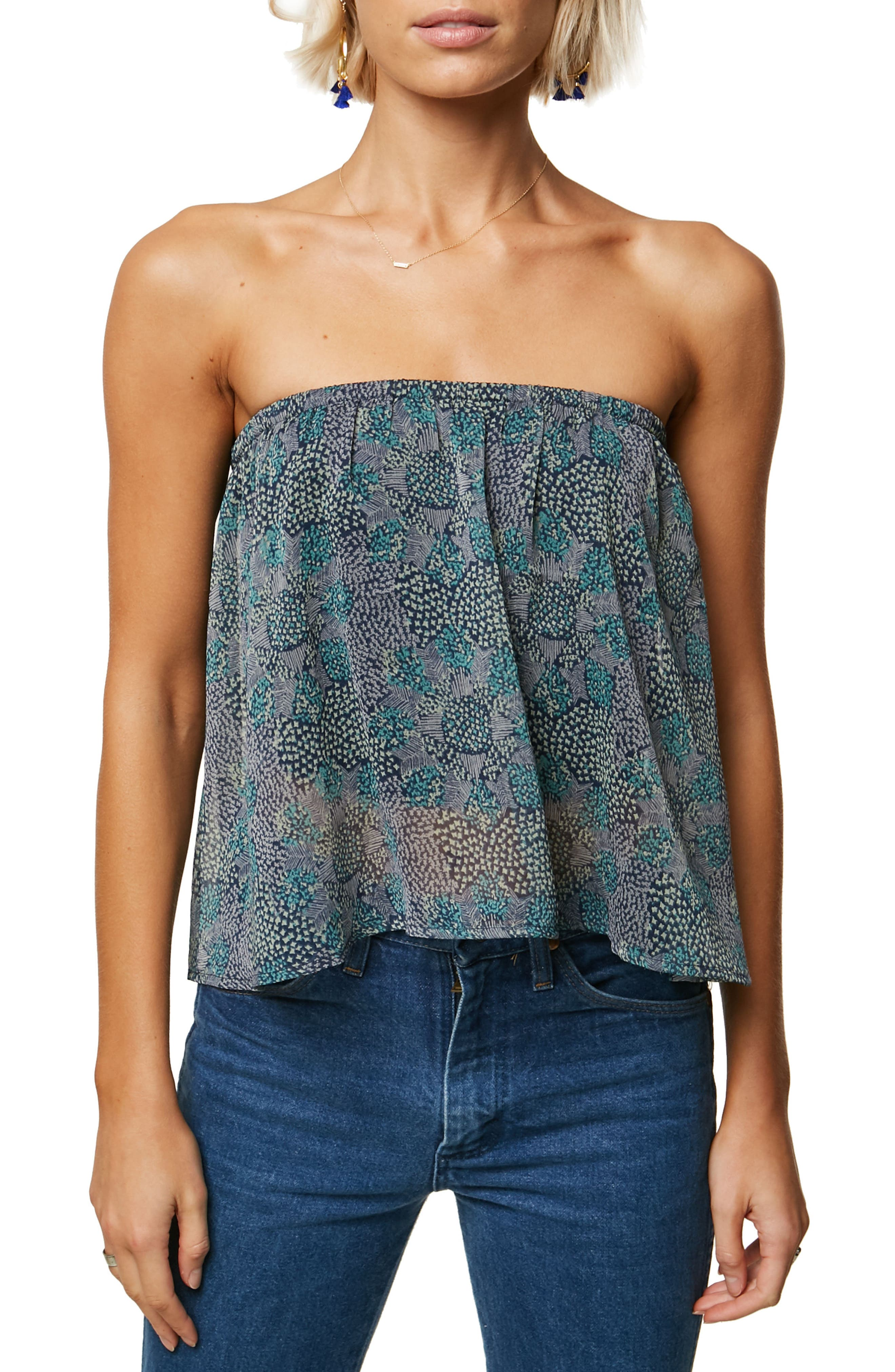 Heiress Strapless Top,                         Main,                         color, 400